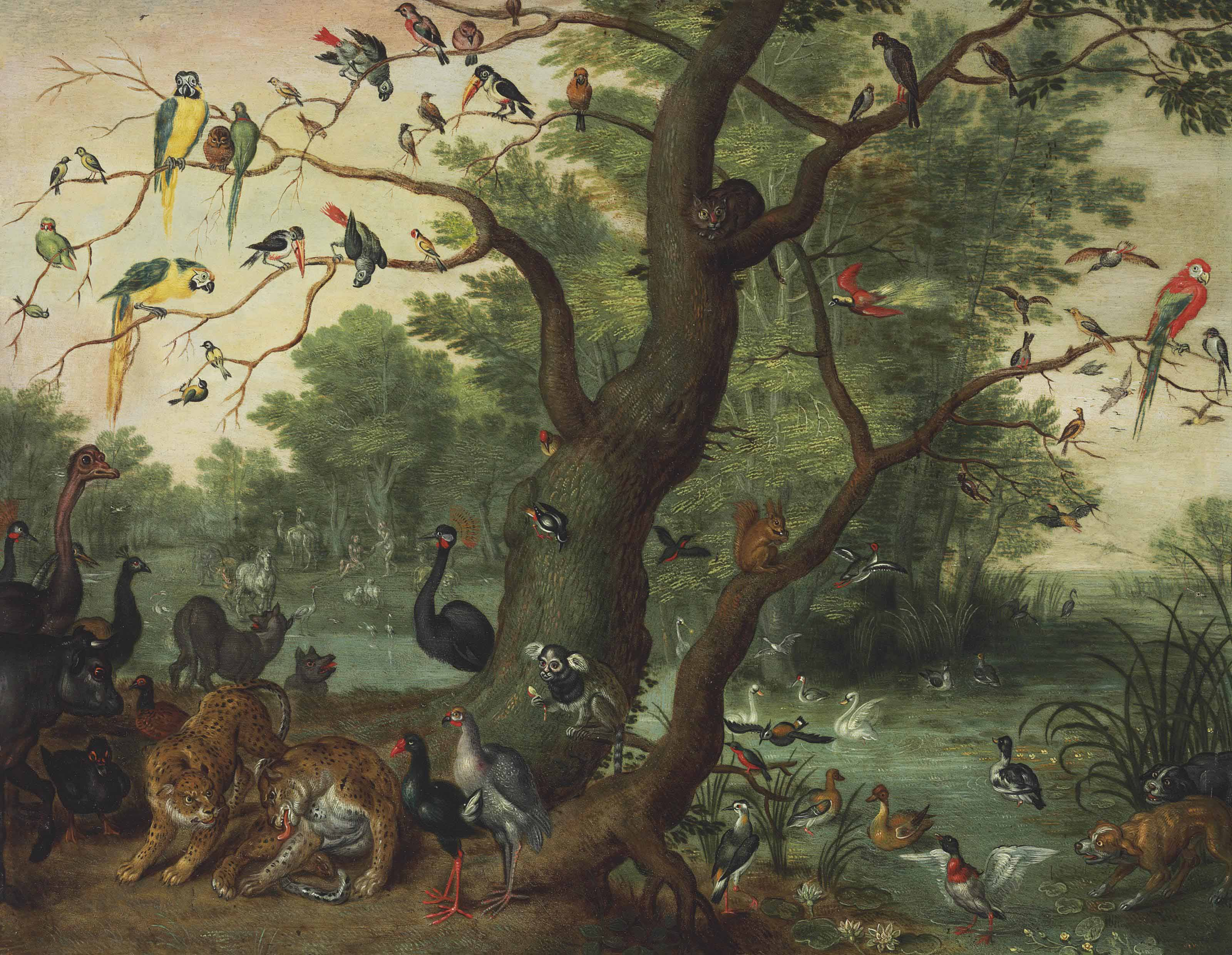 The Garden of Eden, with the Fall of Man
