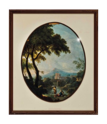 A PAIR OF LOUIS XV STYLE FRAME