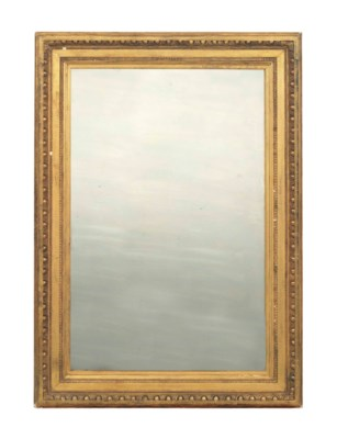 A GILTWOOD PICTURE FRAME, NOW