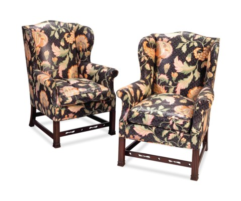 A PAIR OF GEORGE III STYLE MAH