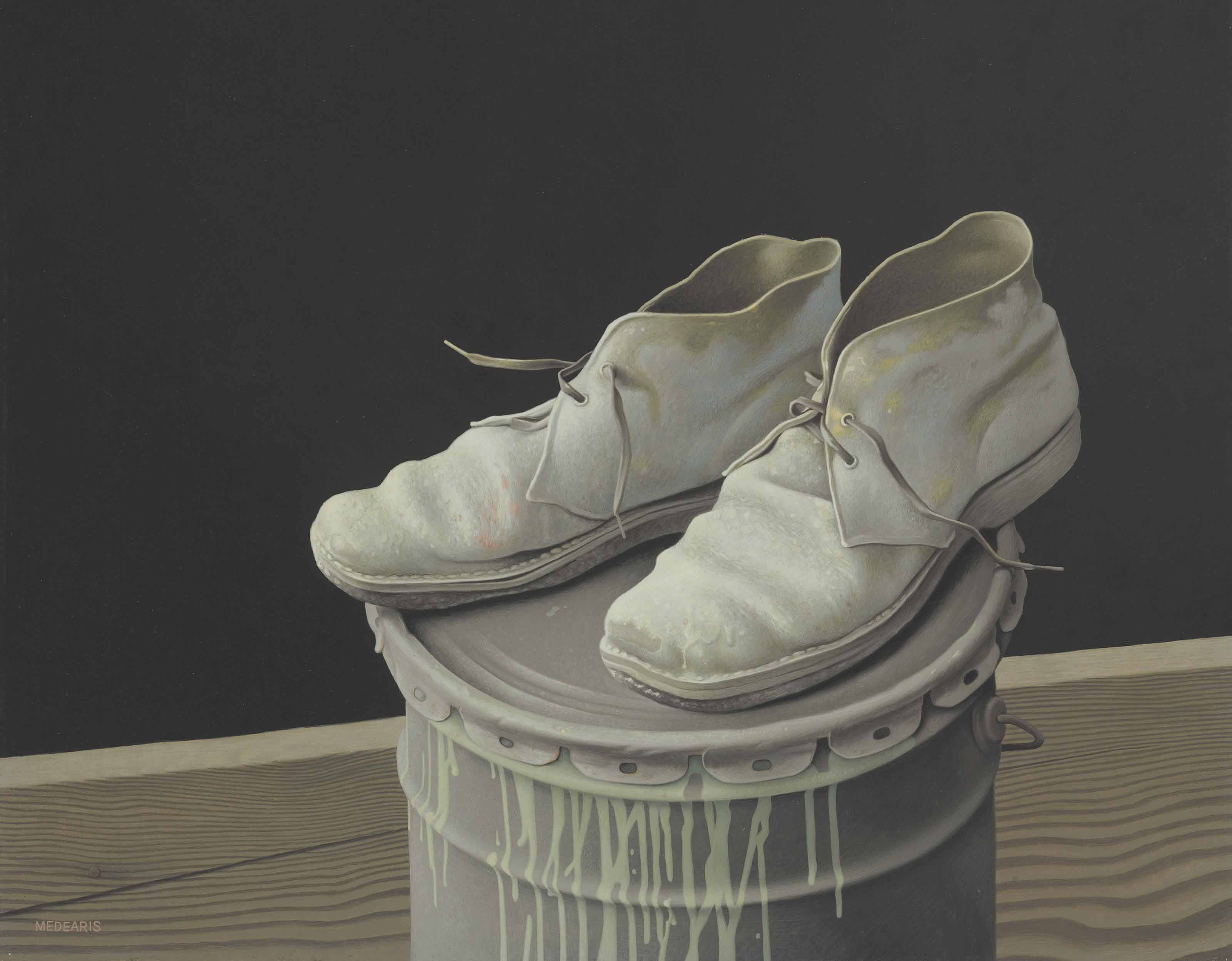 The Painter's Shoes