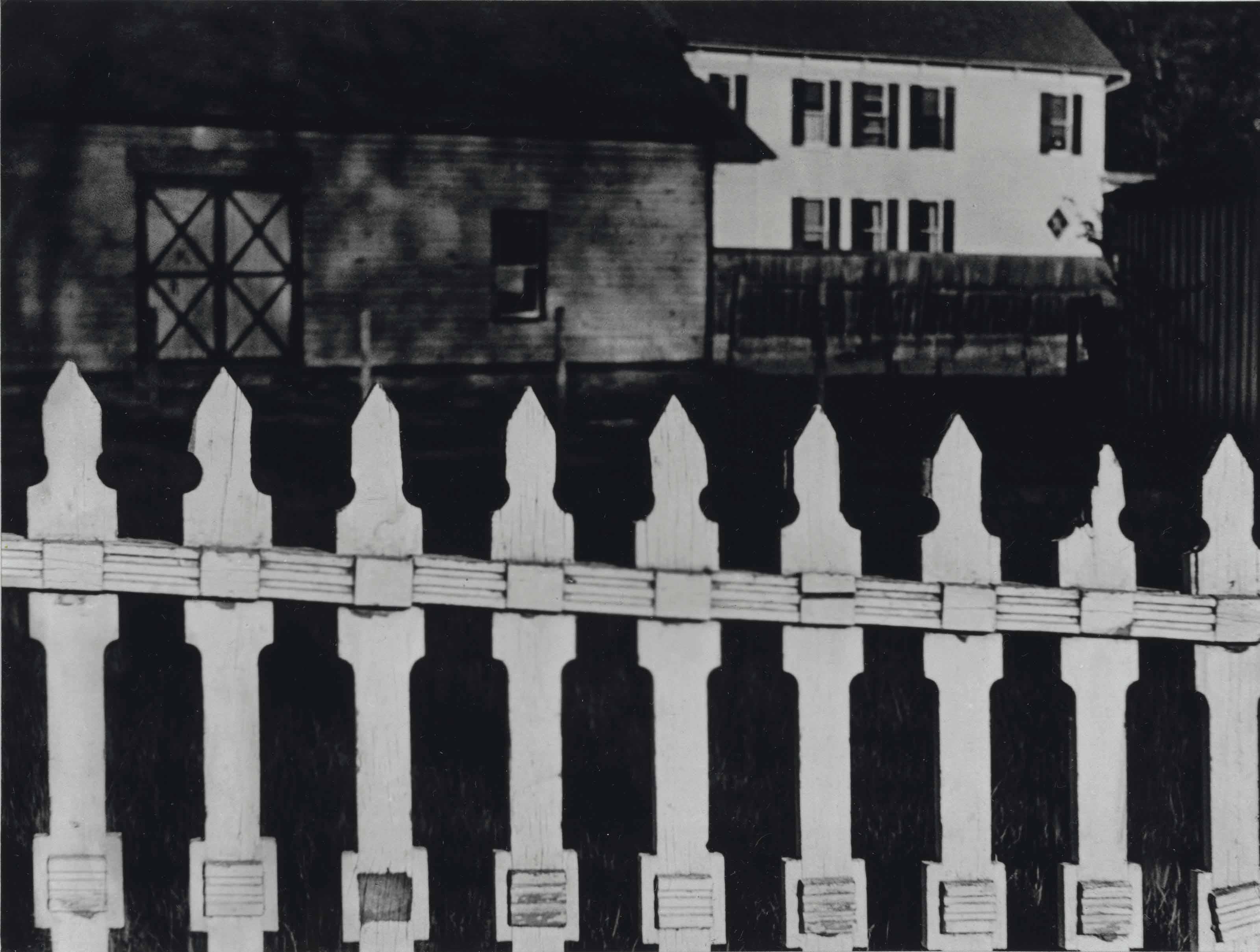 The White Fence, Port Kent, New York, 1916