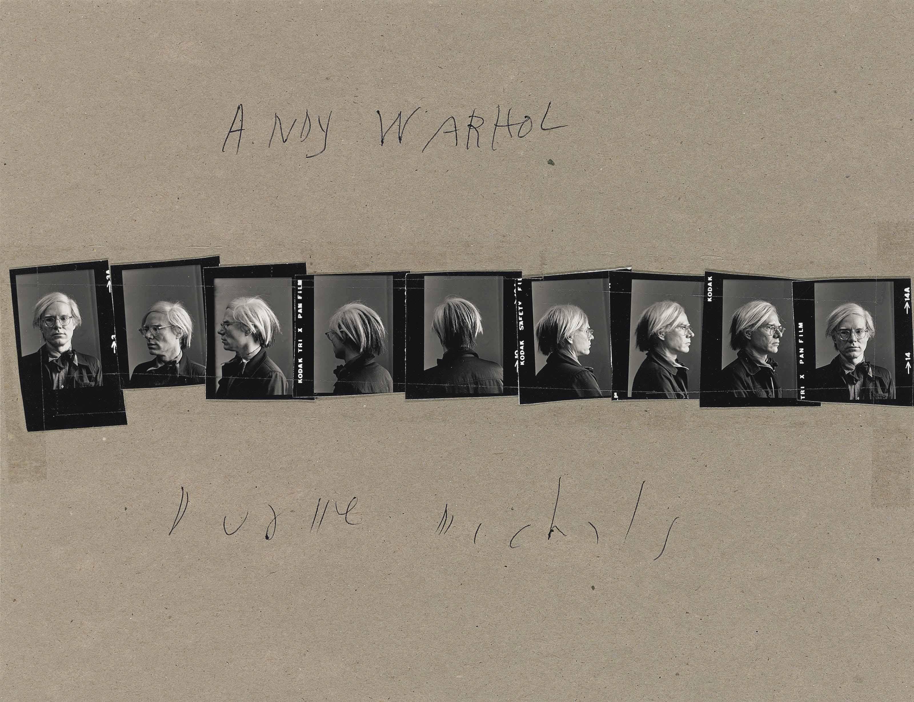 Andy Warhol, c. 1973