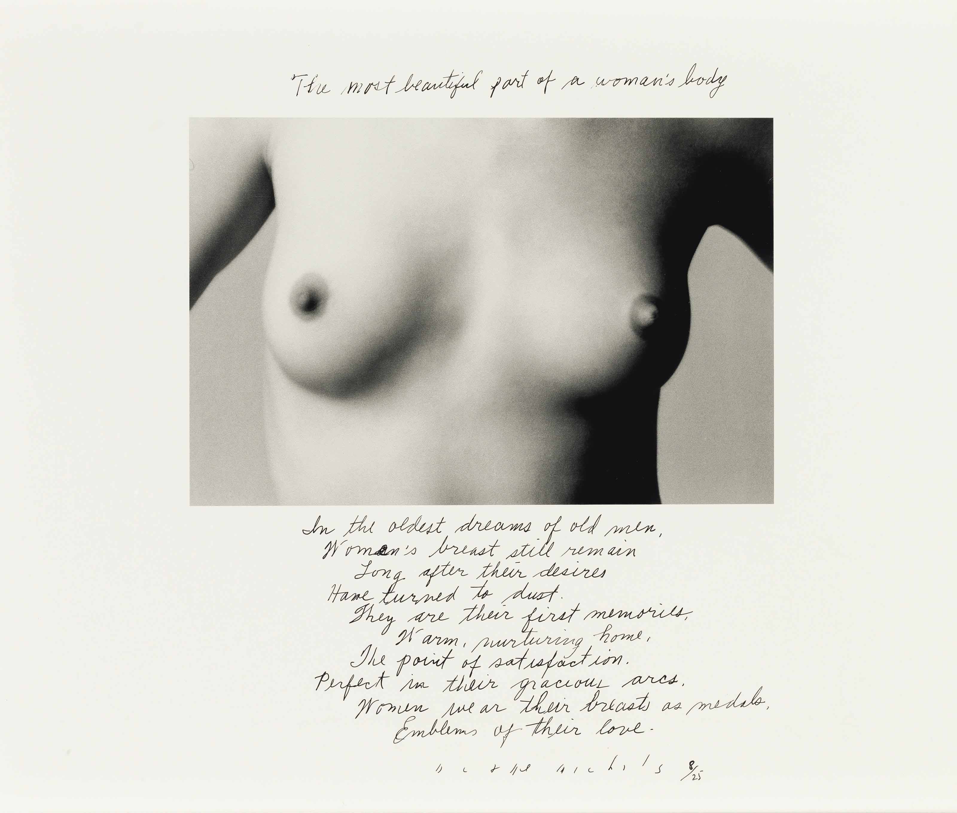 The Most Beautiful Part of a Woman's Body, 1986
