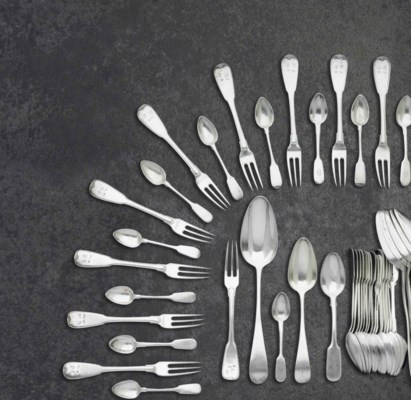 A MISCELLANEOUS GROUP OF SILVE