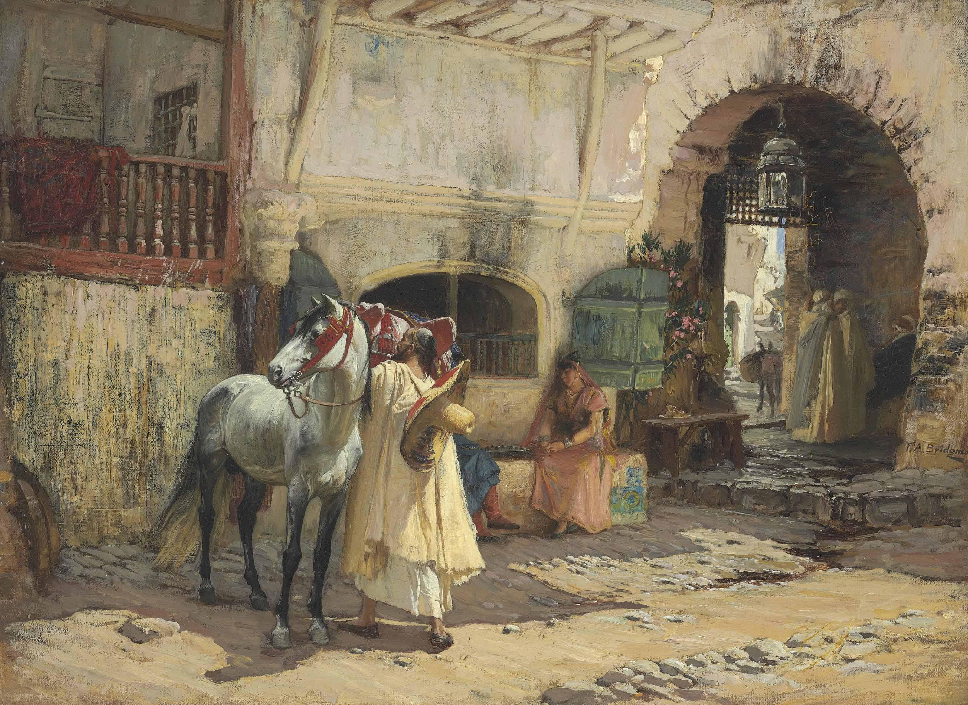 Off for a Ride, Constantine, Algeria