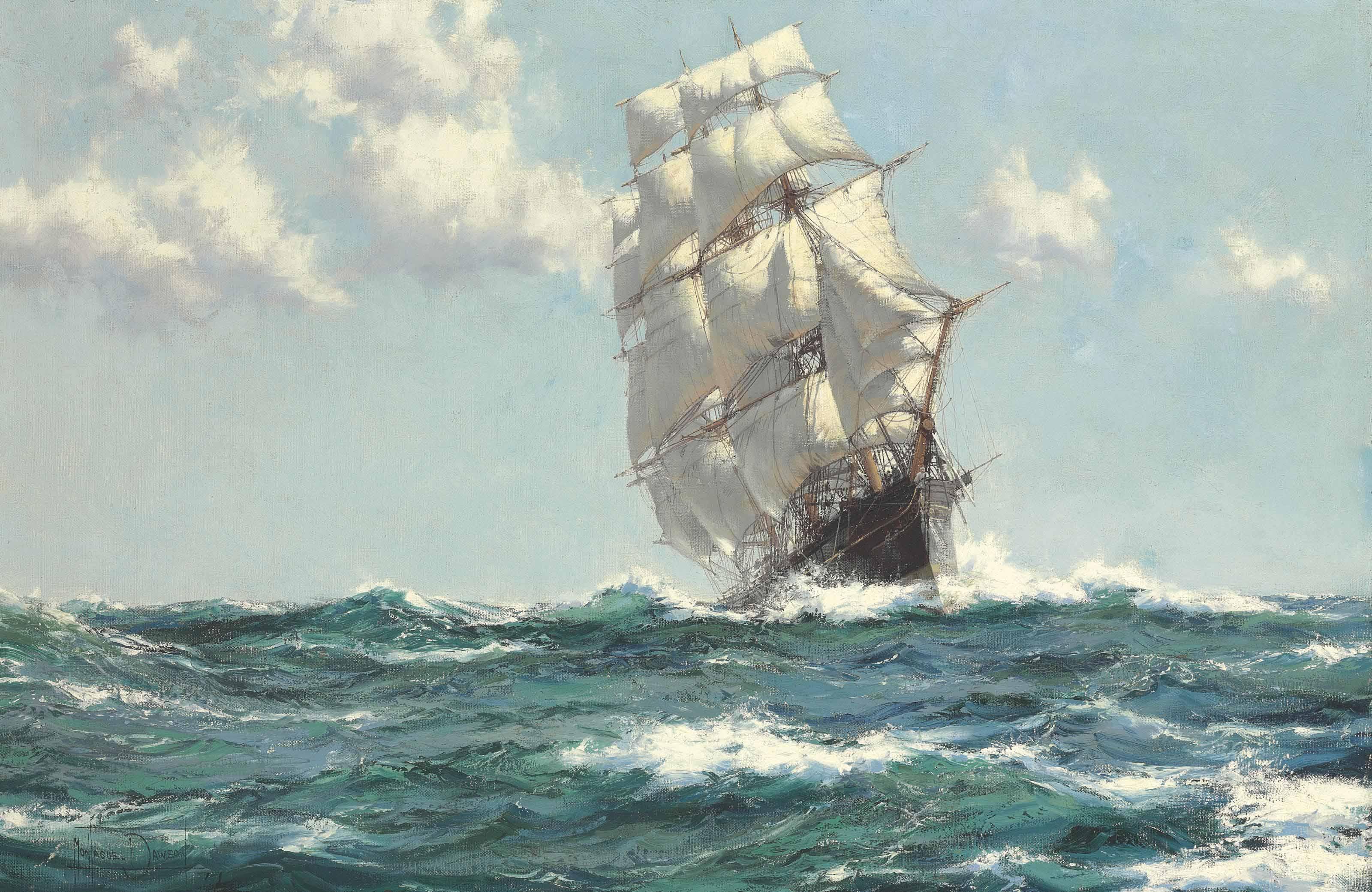 Sea Beauty - The Tea Clipper 'Wild Ranger'
