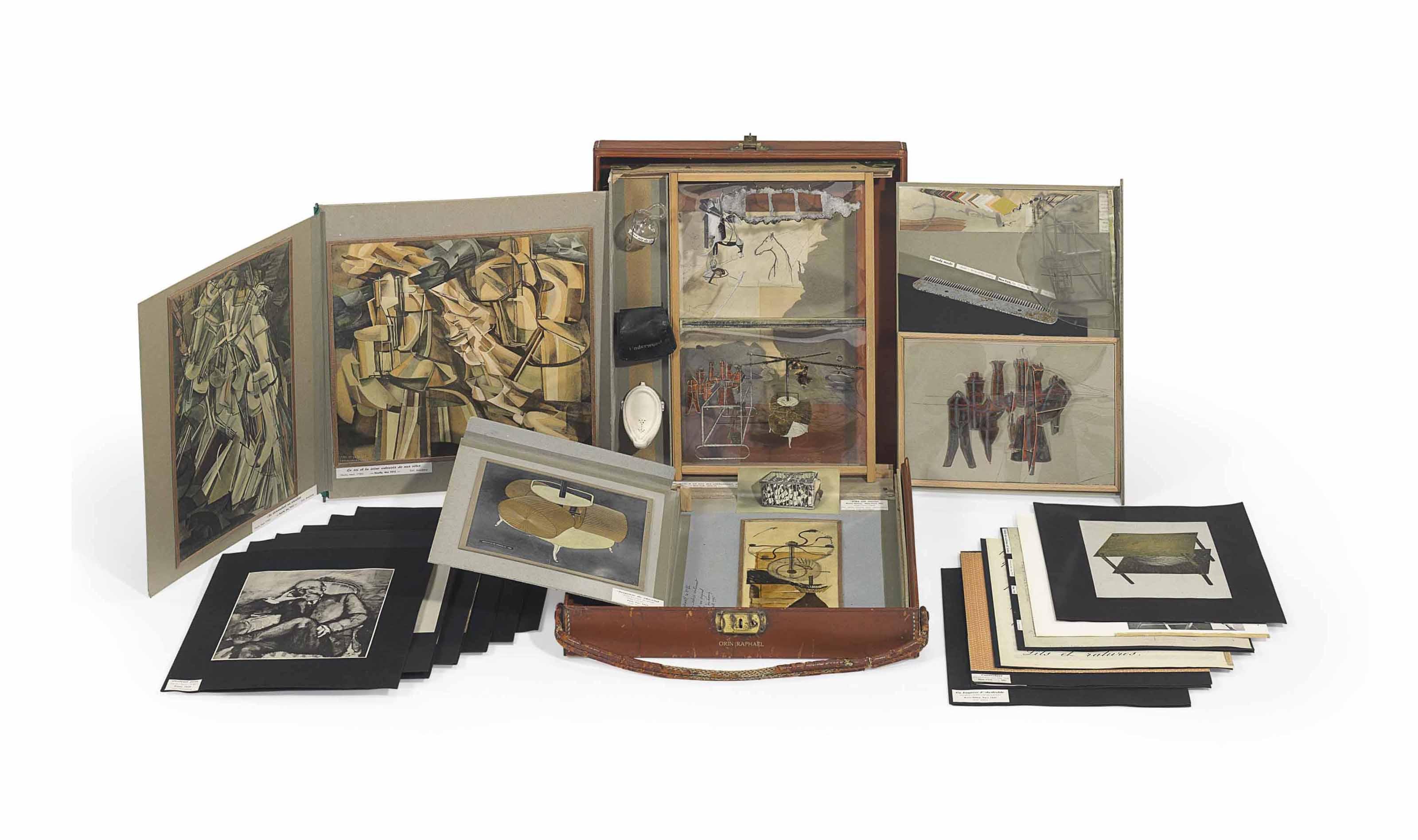 de ou par Marcel Duchamp ou Rrose Sélavy (La Boîte-en-valise) [Series A] Untitled