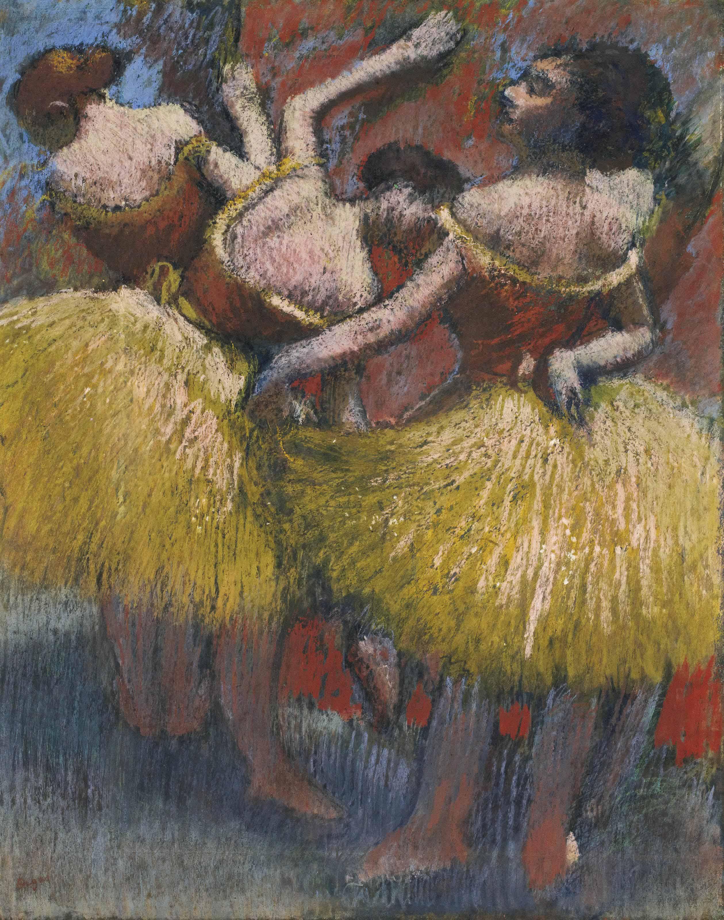Trois danseuses
