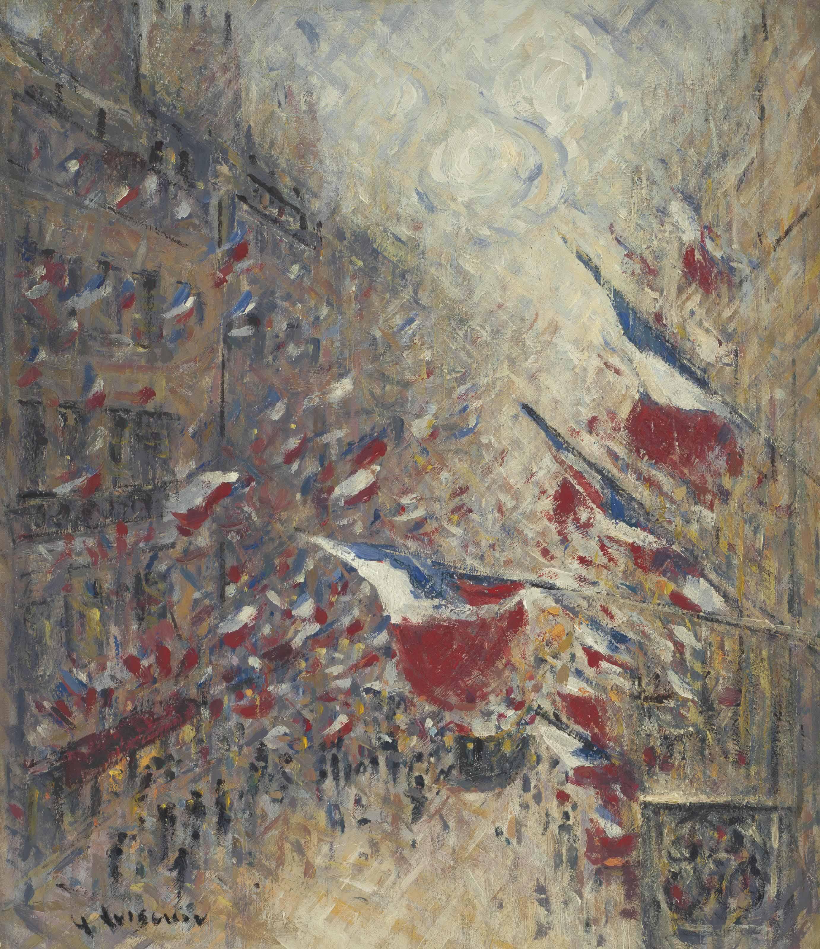 Le quatorze juillet à Paris