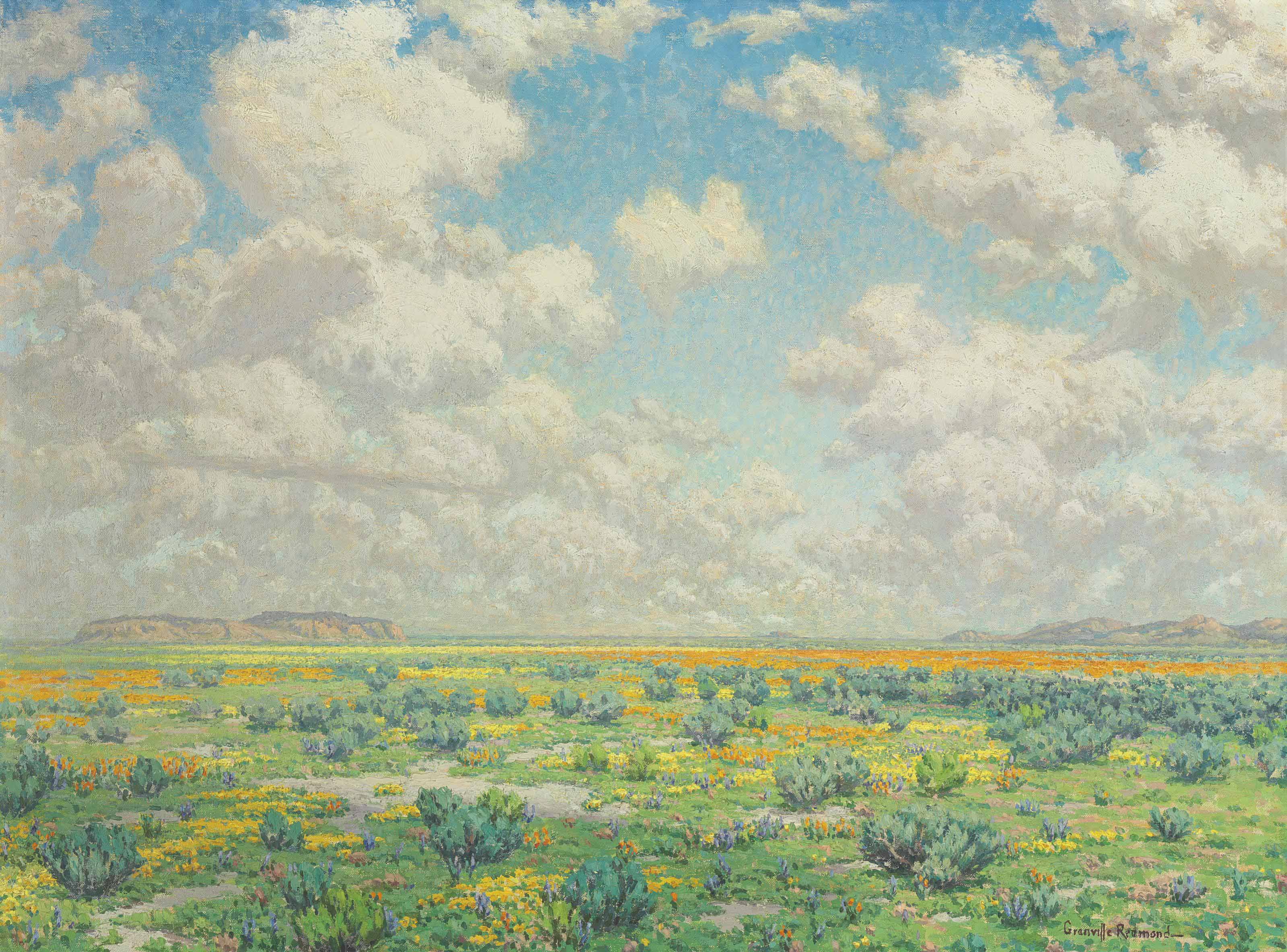 Spring--Antelope Valley