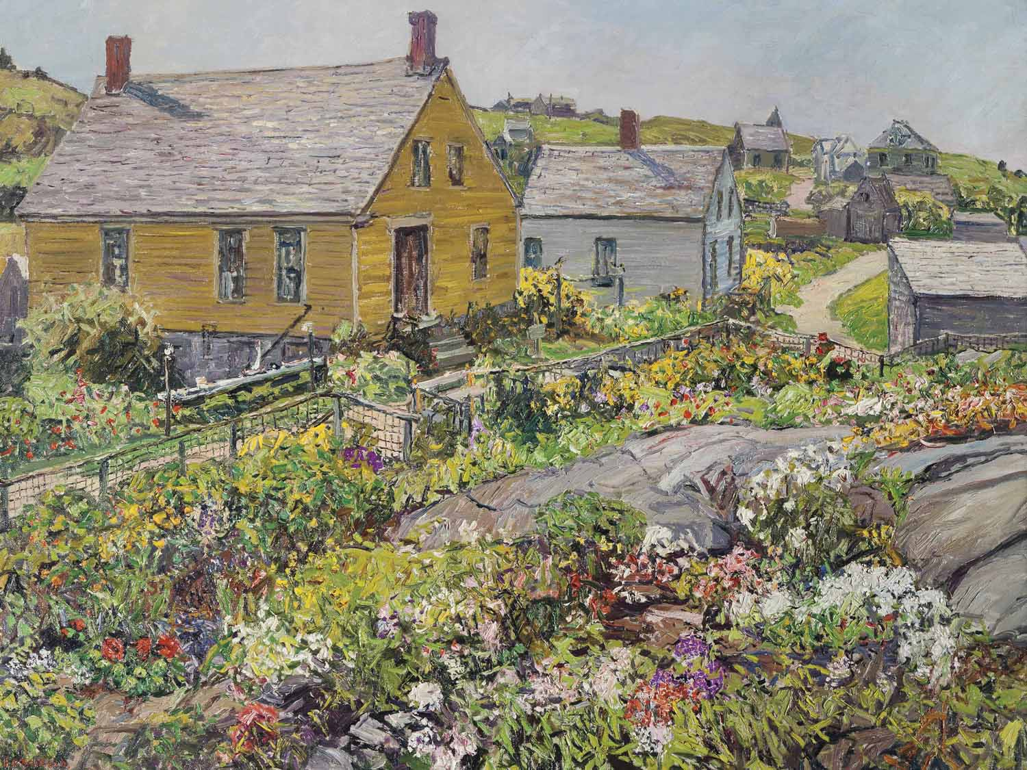 The Rock Garden, Monhegan Island, Maine