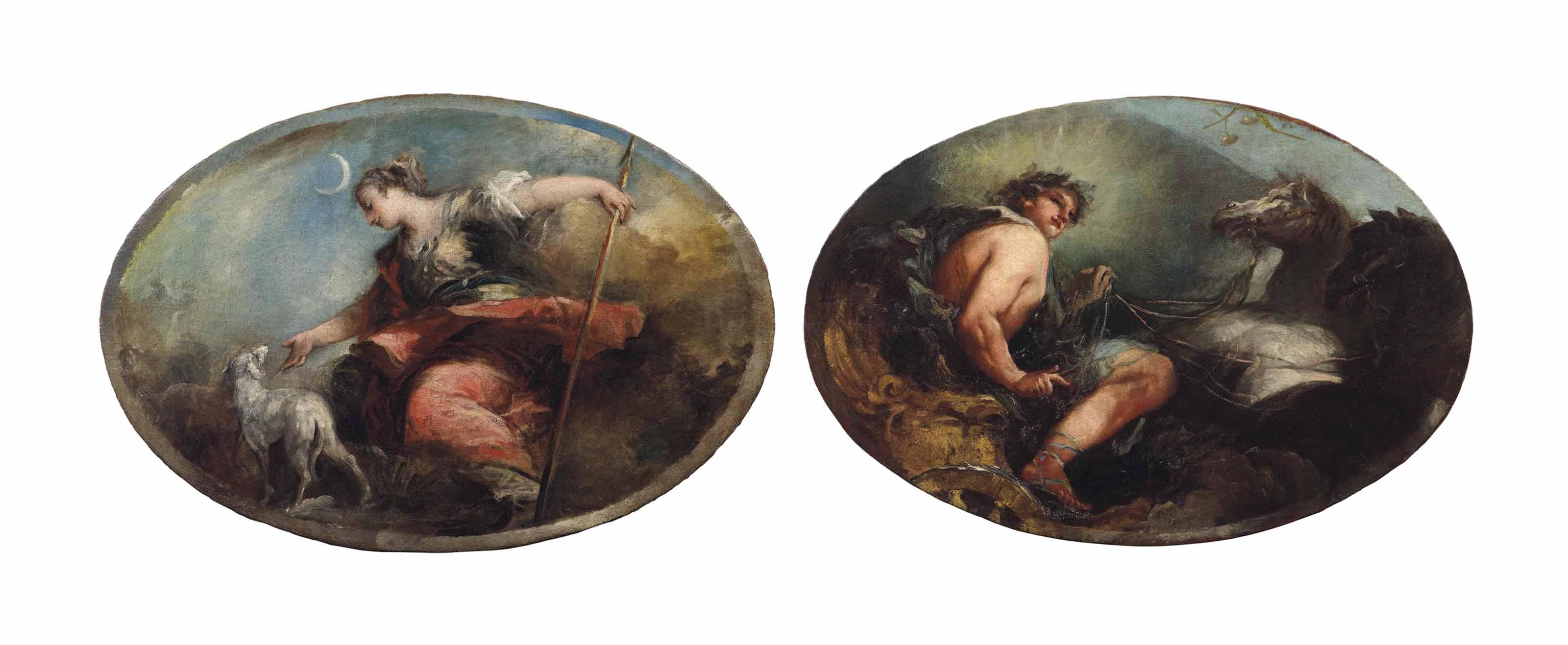 Apollo; and Diana