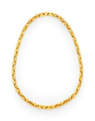 A GOLD NECKLACE, BY HERMÈS