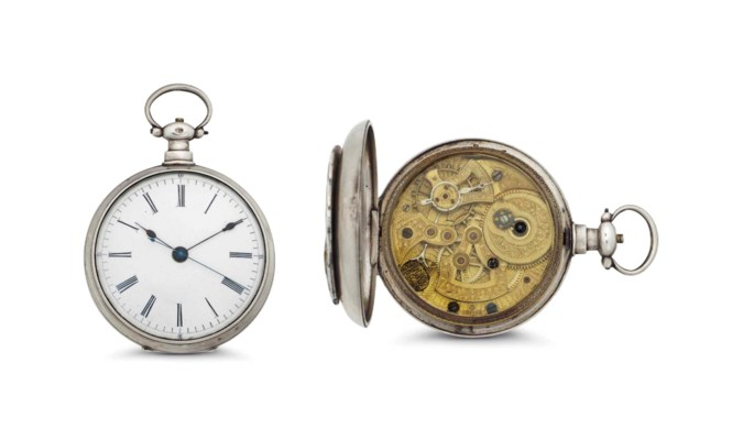 Bovet. A Silver and Enamel Ope