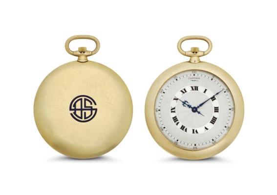 Cartier. An Ultrathin 18k Gold