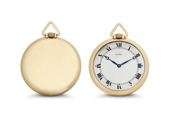 Cartier. An 18k Pink Gold Ultr