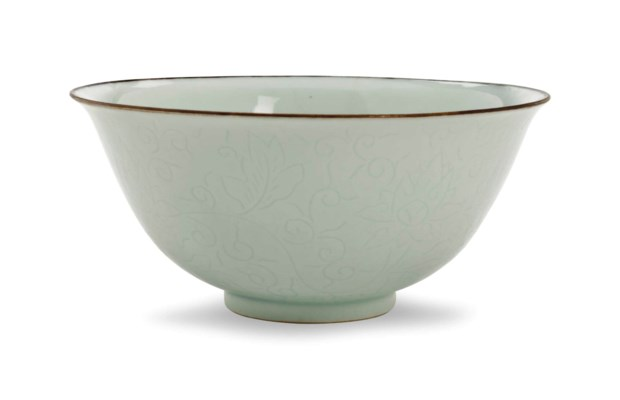 A CHINESE PORCELAIN VERY PALE