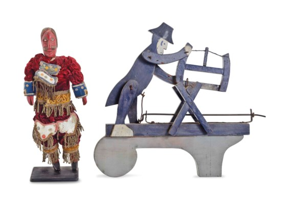 A KINETIC MODEL OF A MAN SAWIN