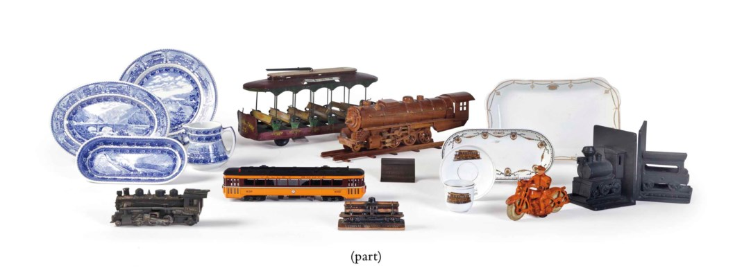 A COLLECTION OF AMERICAN RAILR