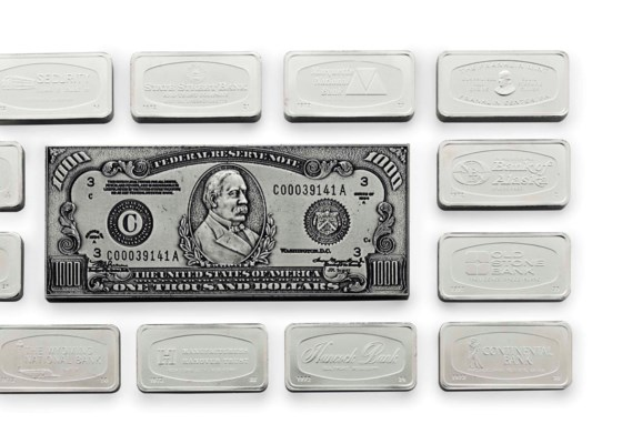 A PROOF SET OF FIFTY AMERICAN