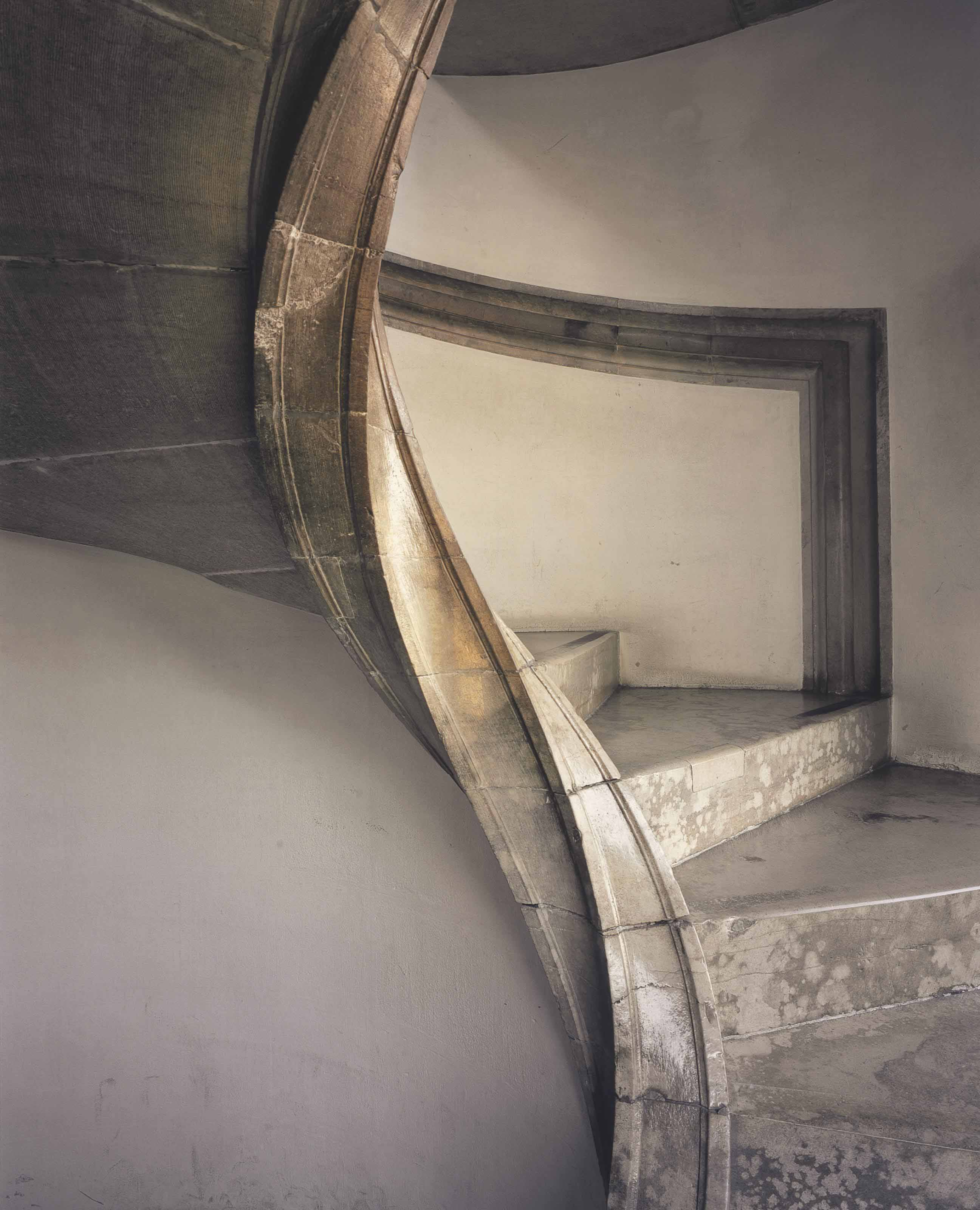 Palace Stairwell, Lisbon, 2011