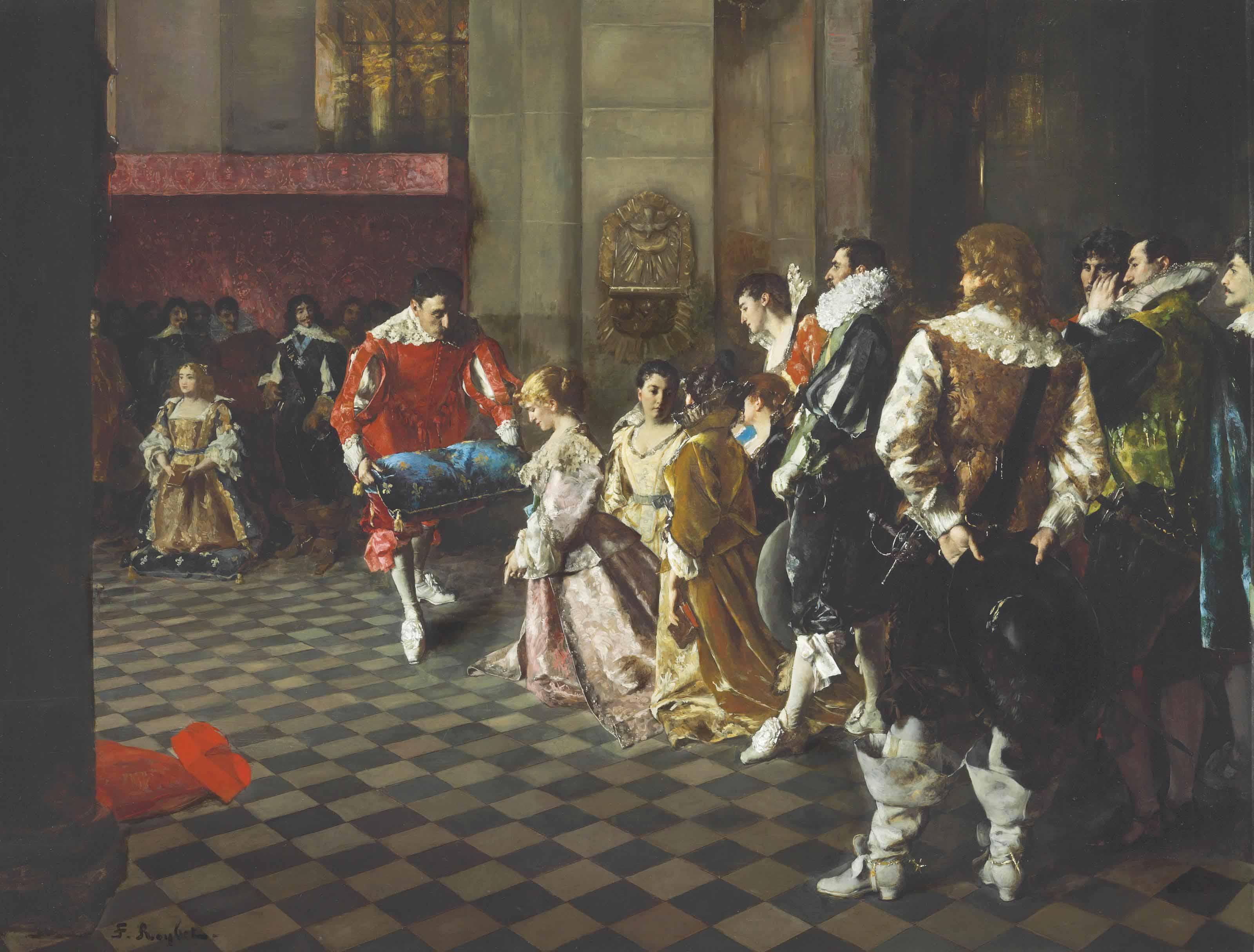 Bénédiction à la cour de France