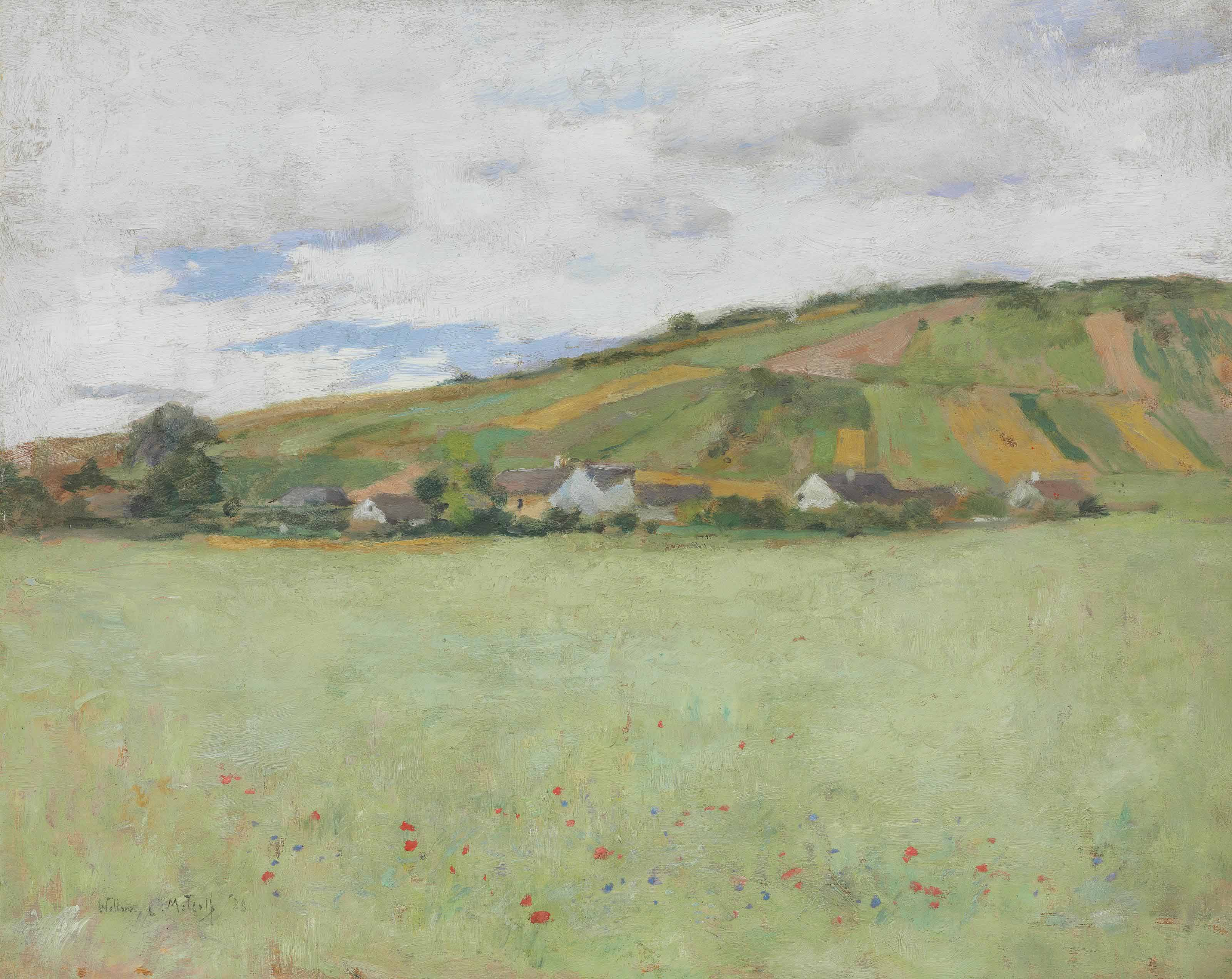 Oat Field, Giverny