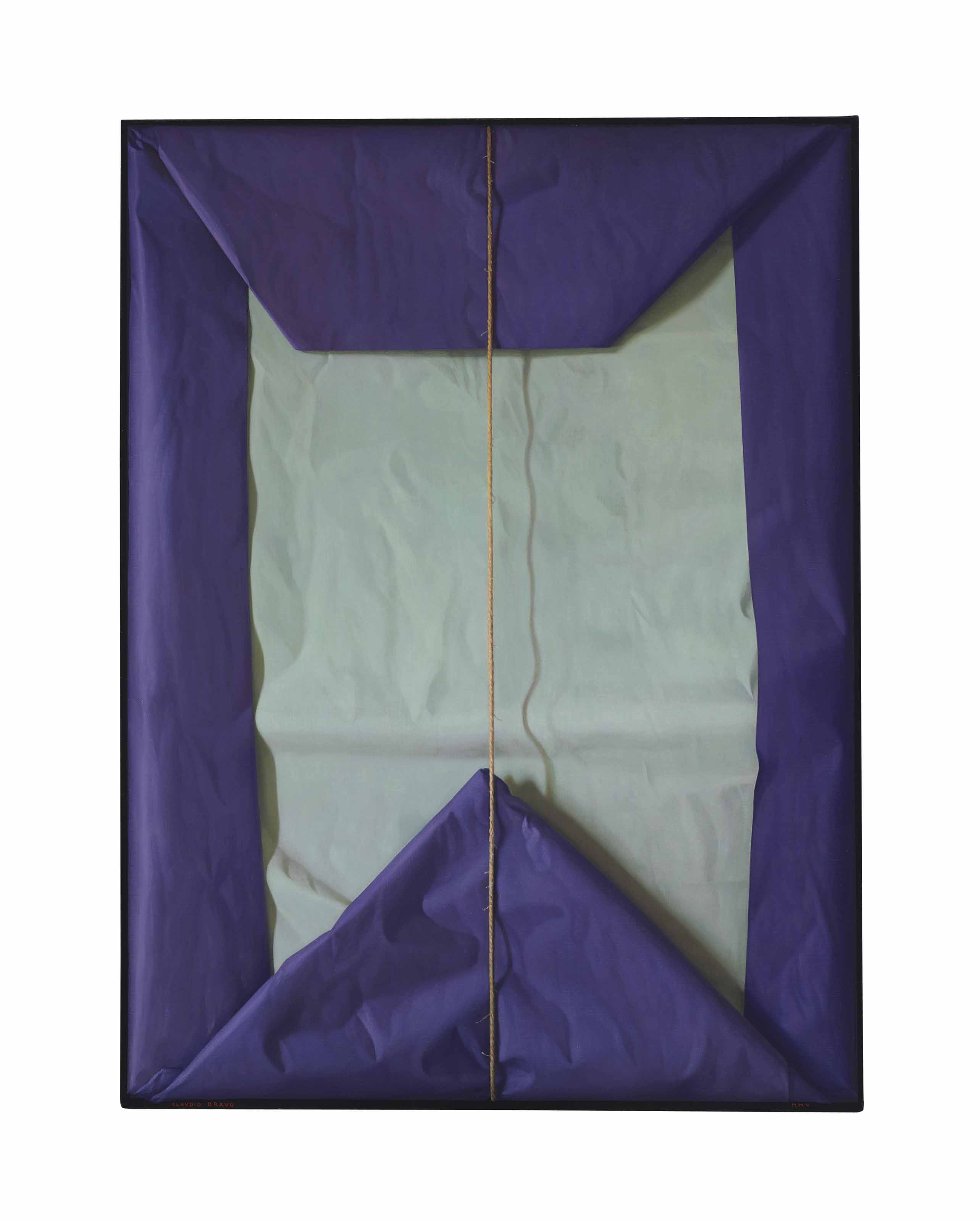 Purple and Grey-Blue Package