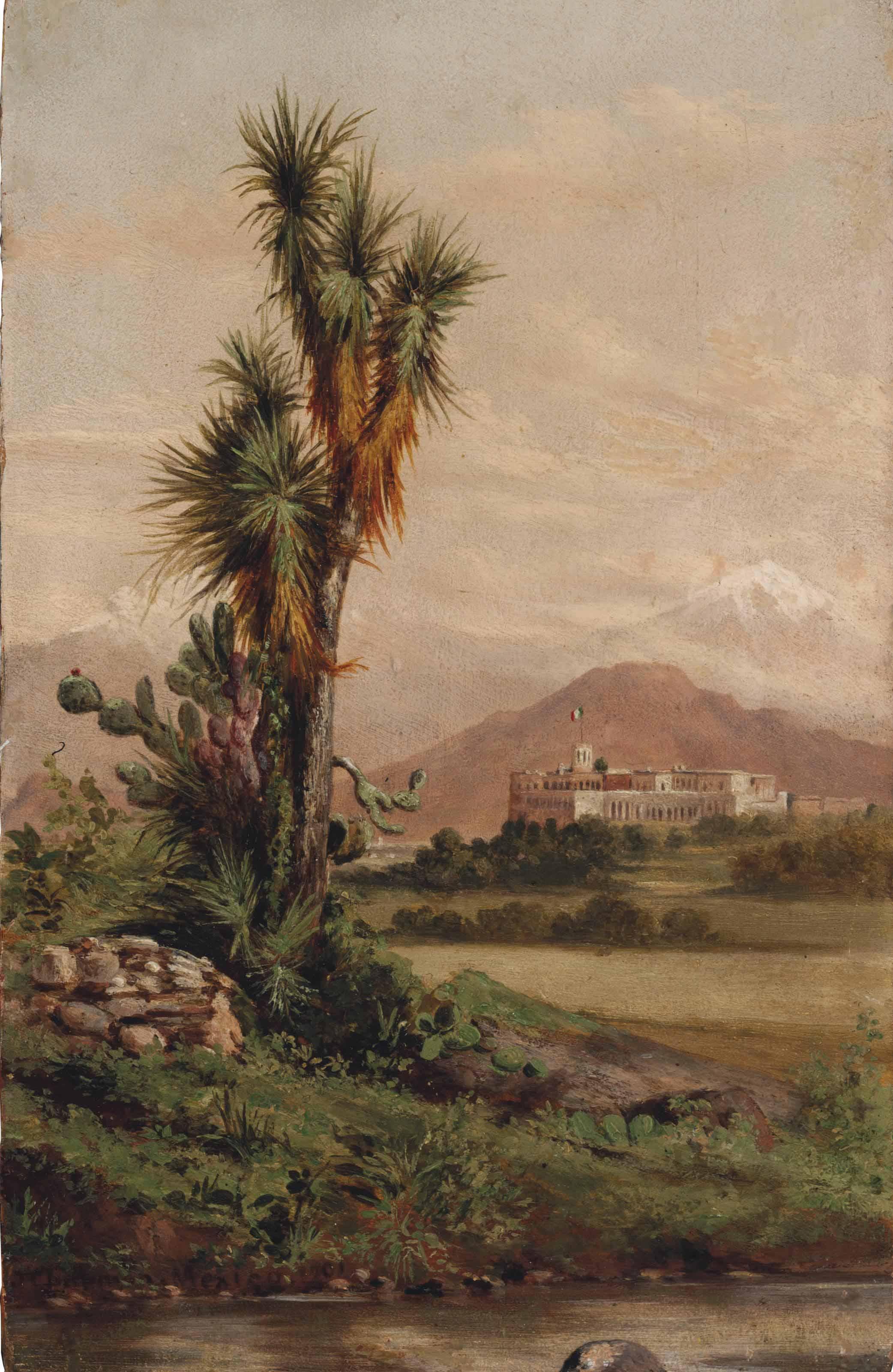 Chapultepec, desde la hacienda de los Morales
