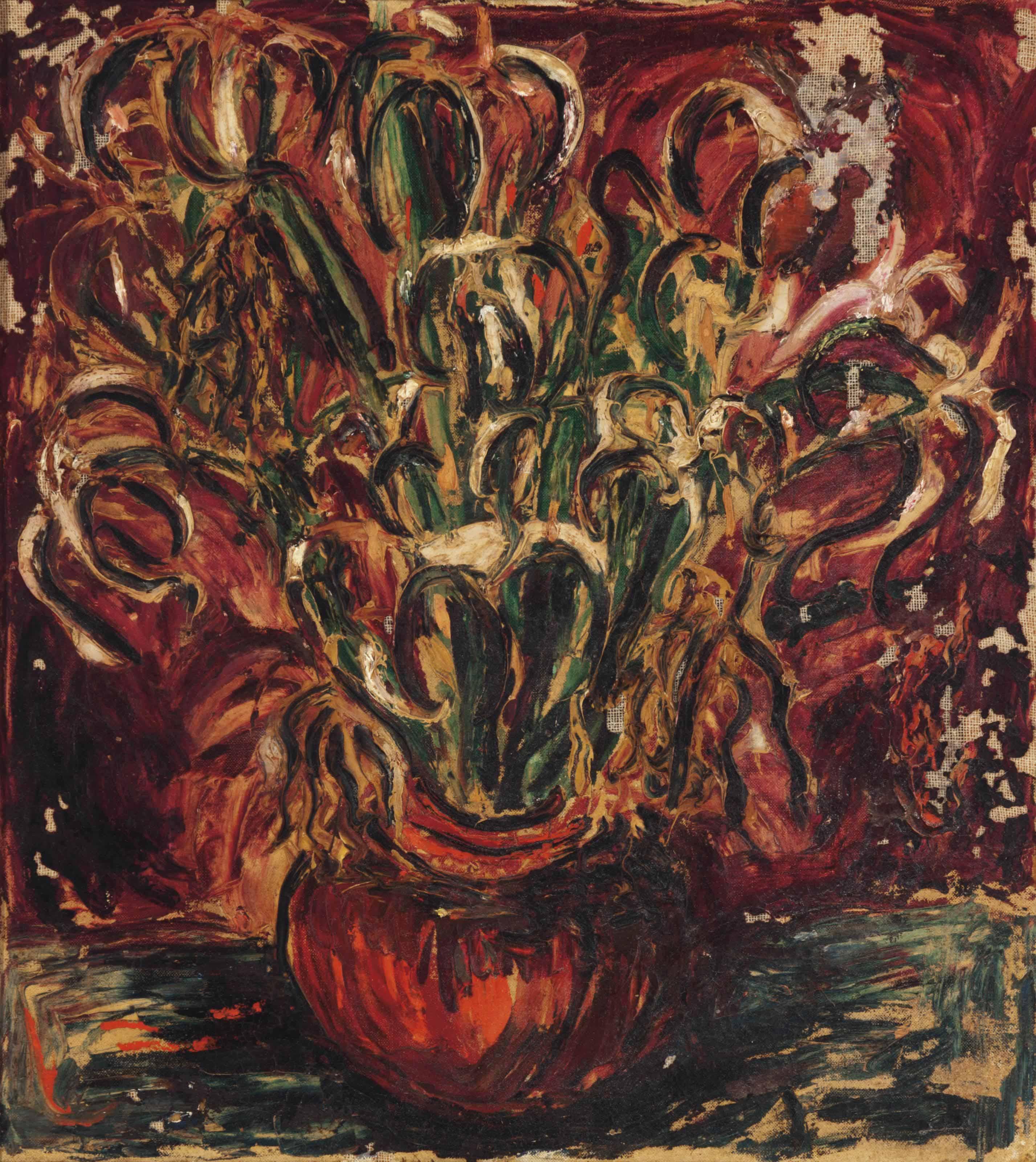 Untitled (Floral Vase)