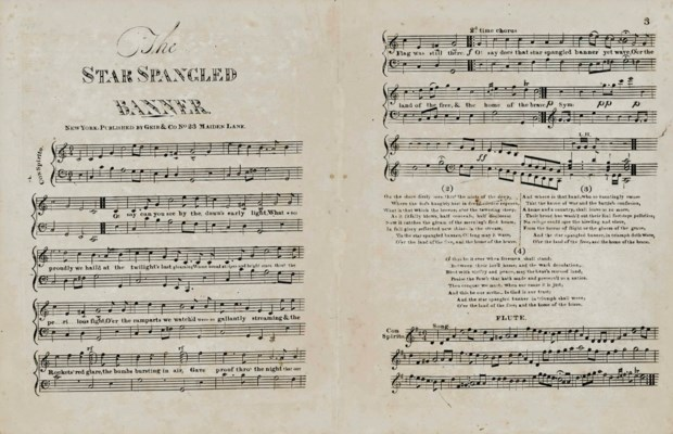 KEY Francis Scott Poet The Star Spangled Banner New