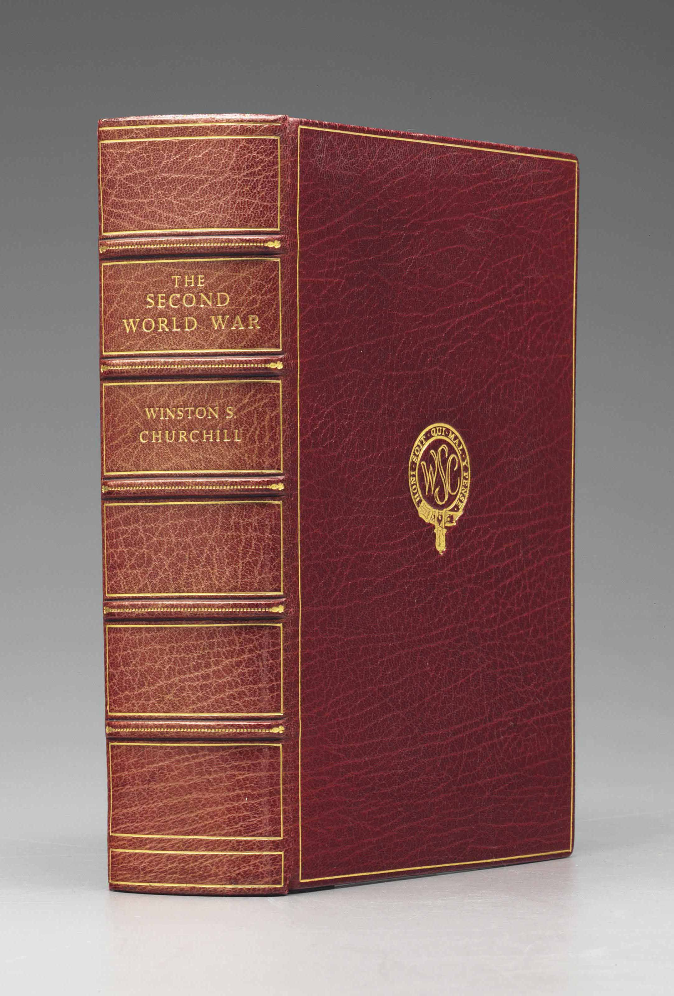 CHURCHILL, Winston S. The Second World War, and an Epilogue on the Years 1945-1957. London: Cassell & Co., 1959.