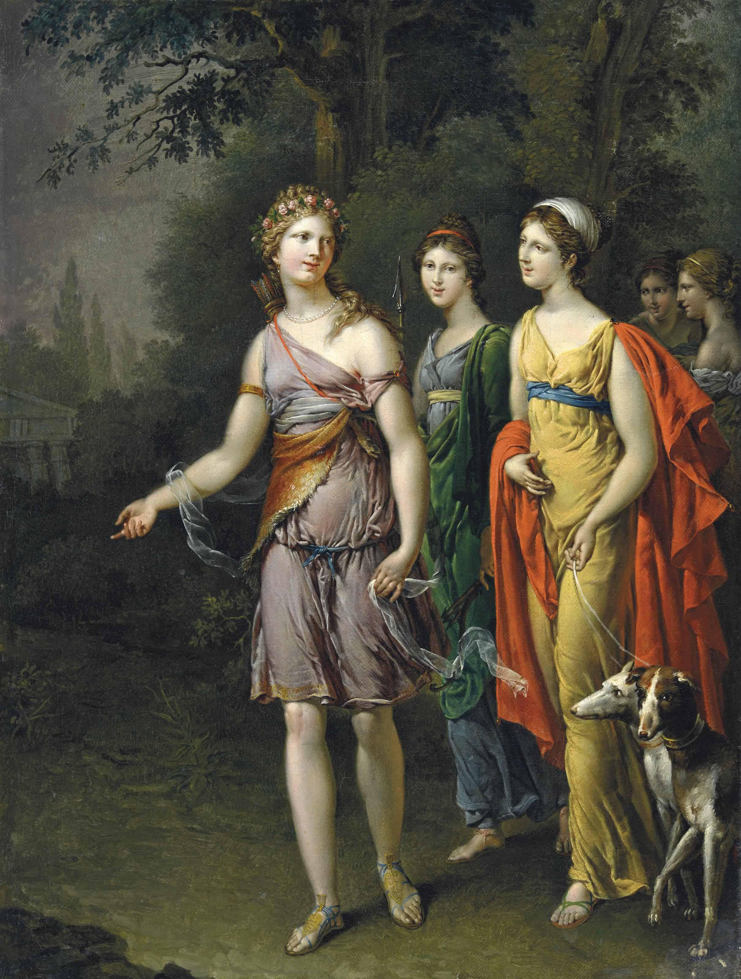 Diane et ses compagnes
