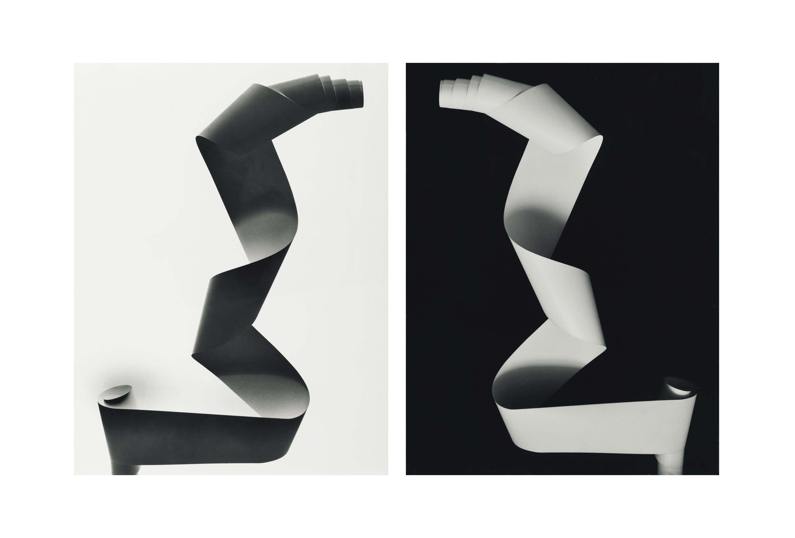 White Paper-Roll, Negative et White Paper-Roll, Positive , 1938