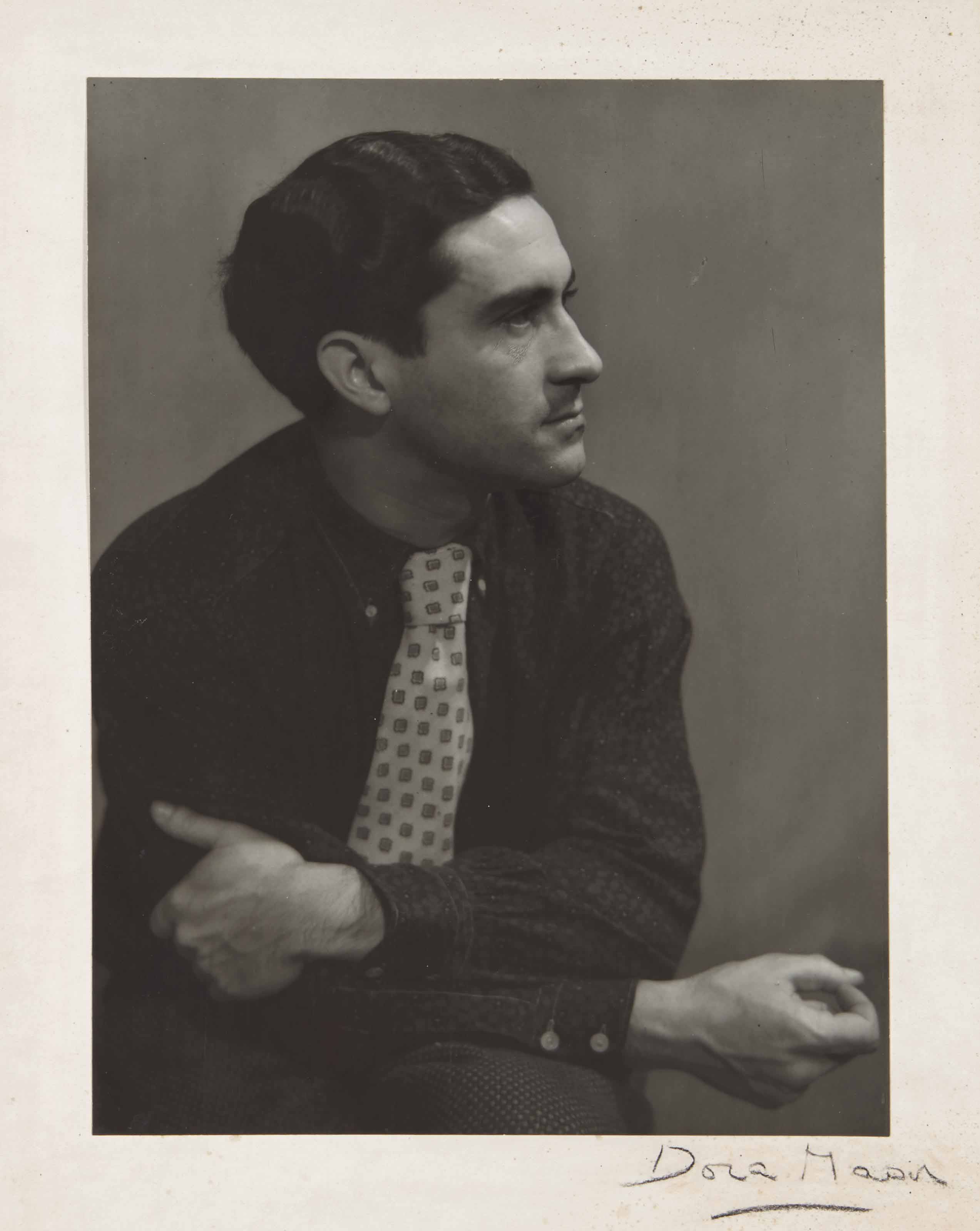 Portrait de Georges Hugnet, vers 1936