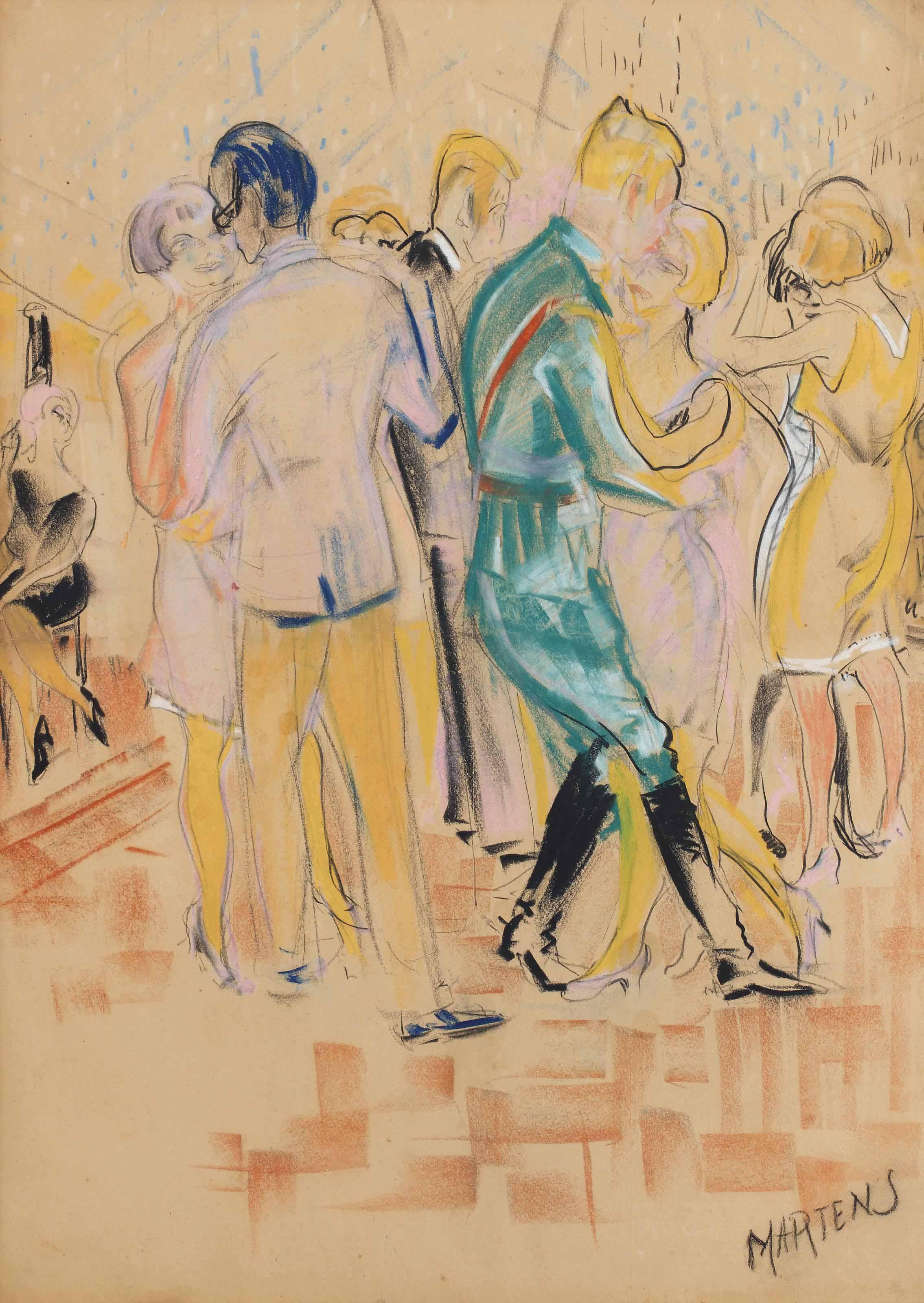 Dancing in cafe Frigge, Groningen