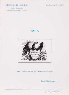 Marcel Broodthaers (1924-1976)