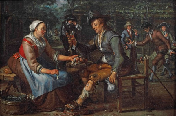 Matthys Naiveu (Leiden 1647-17