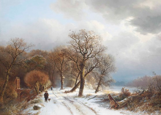 Barend Cornelis Koekkoek (Midd