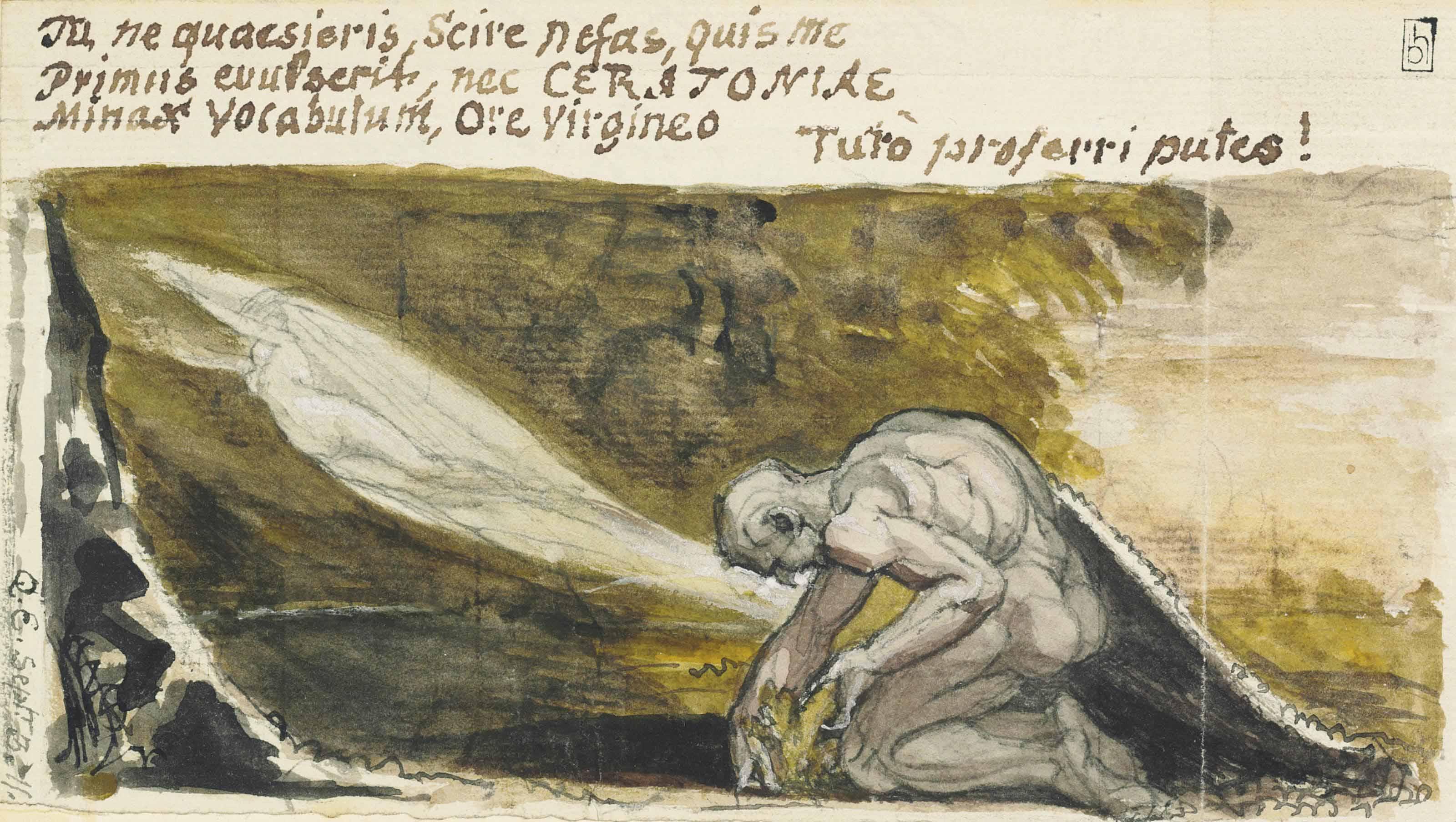 Johann Heinrich Füssli, Henry Fuseli, R.A. (Zurich 1741 - 1825 Putney Hill)