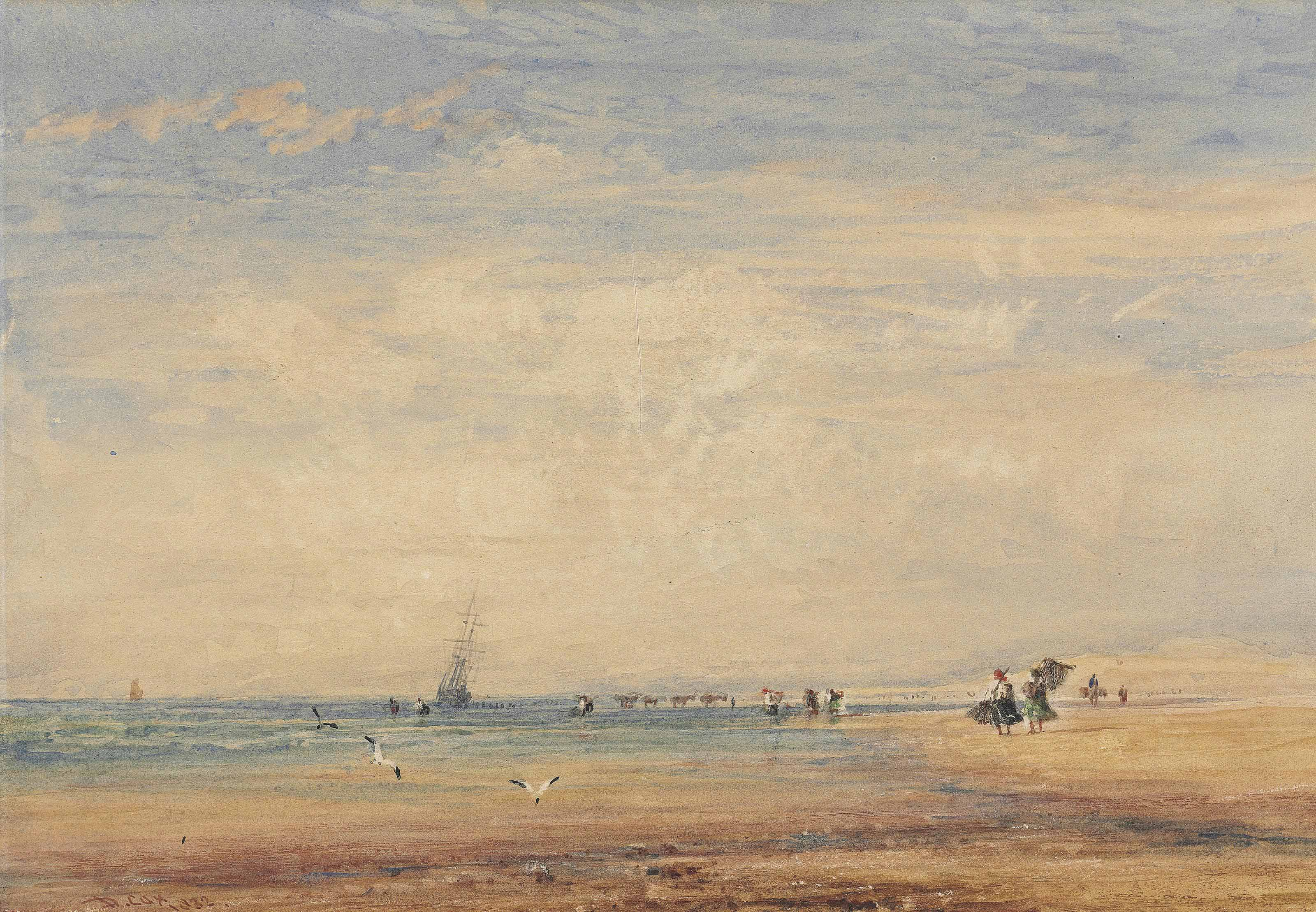 On the sands, Boulogne, France