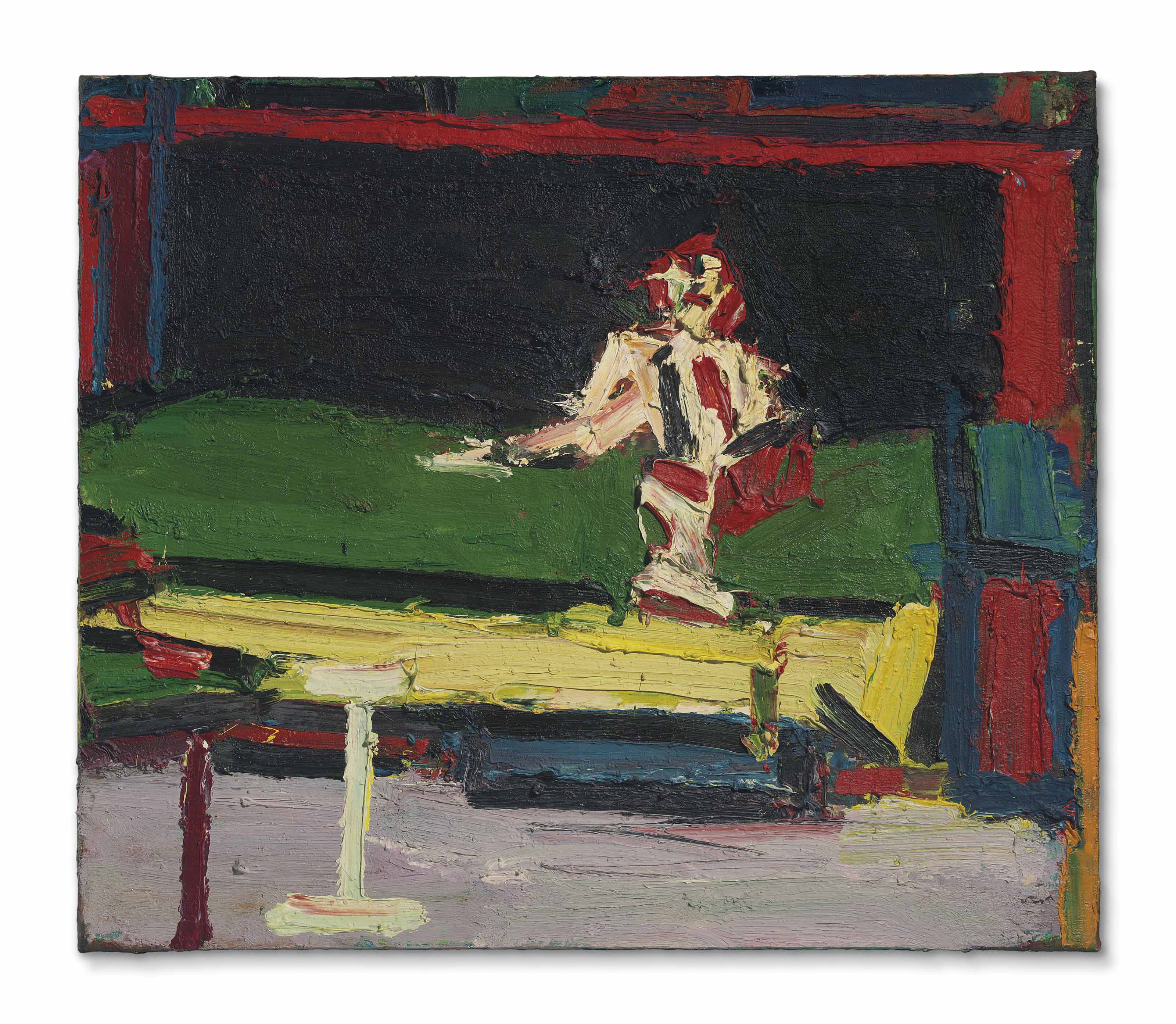 Figure Seated on Bed