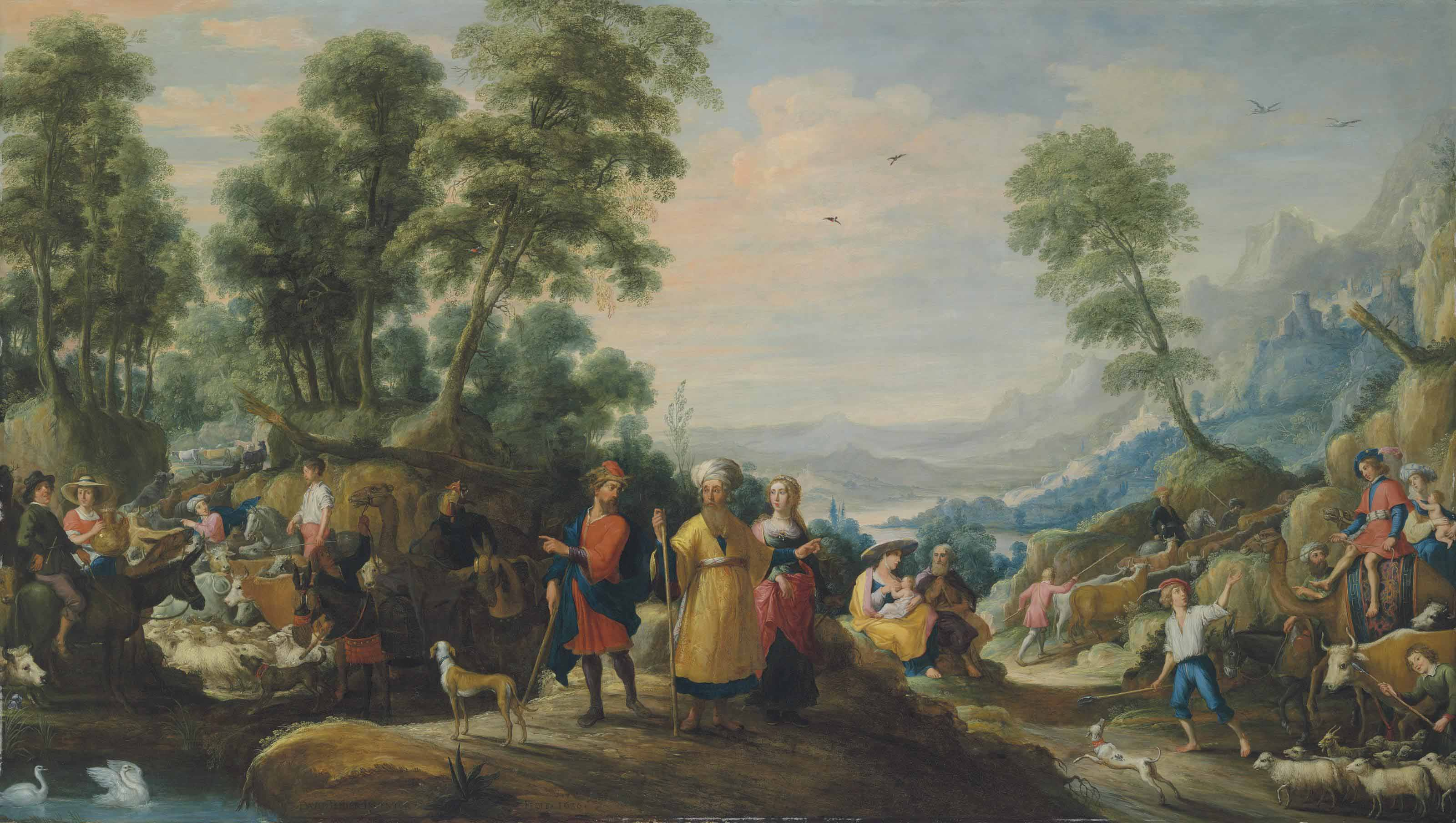 The Meeting of Jacob and Laban