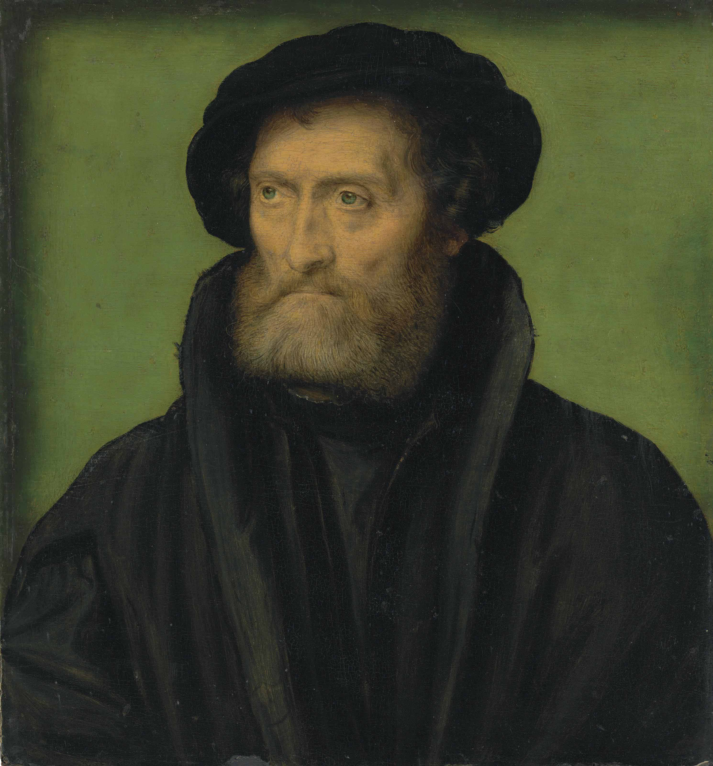 Portrait of a merchant, traditionally identified as Theodore Beza (1519-1605)