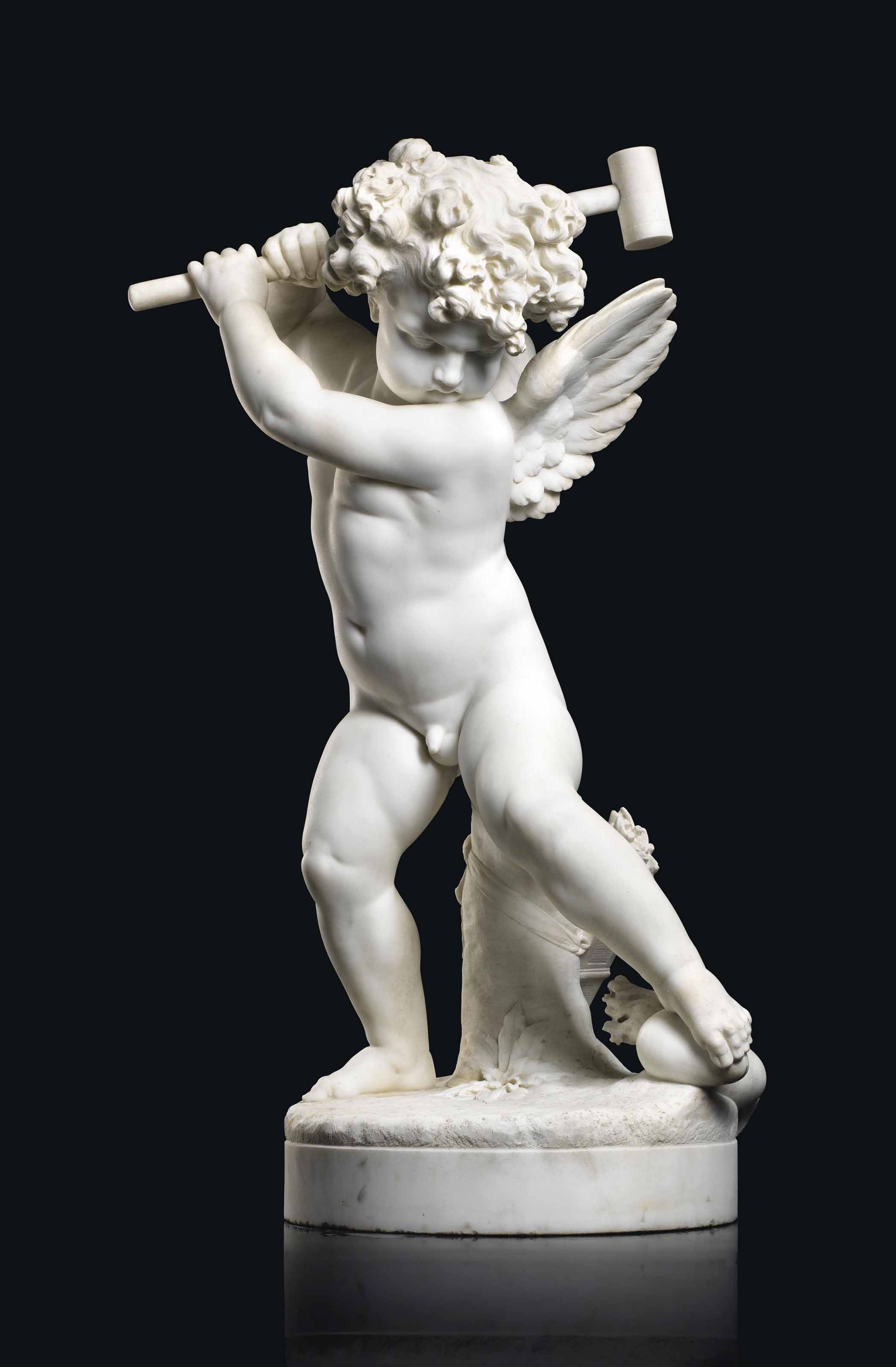 Amour furieux (Angry putto)