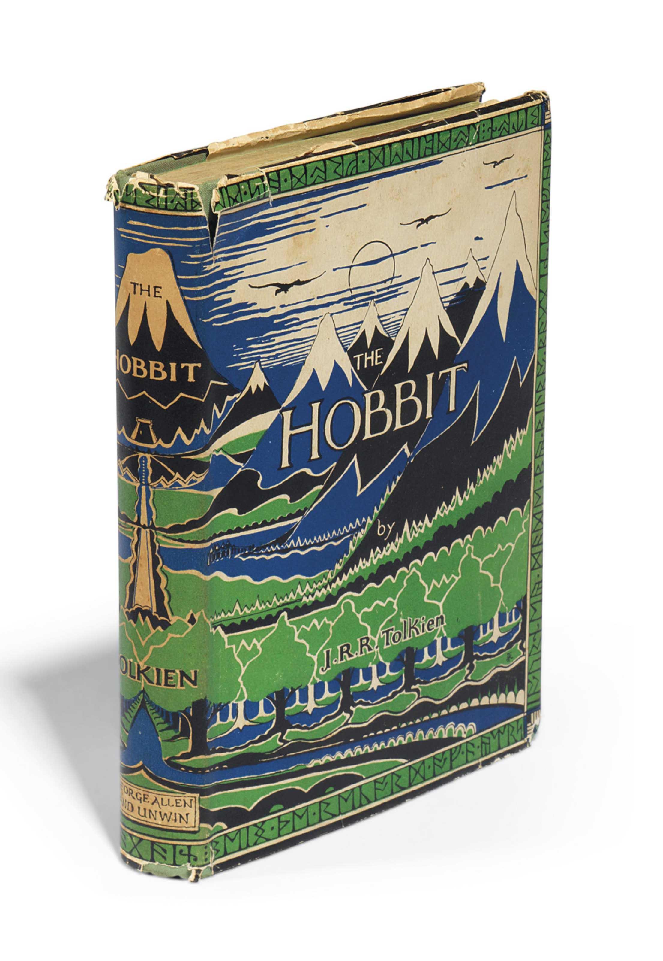 TOLKIEN, John Ronald Reuel (1892-1973). The Hobbit. London: George Allen & Unwin Ltd., 1937.