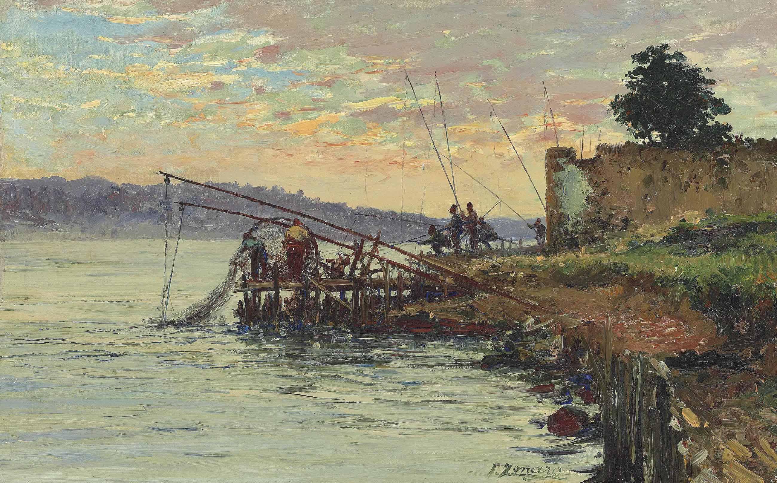 Fishermen by the Bosphorus, Scutari