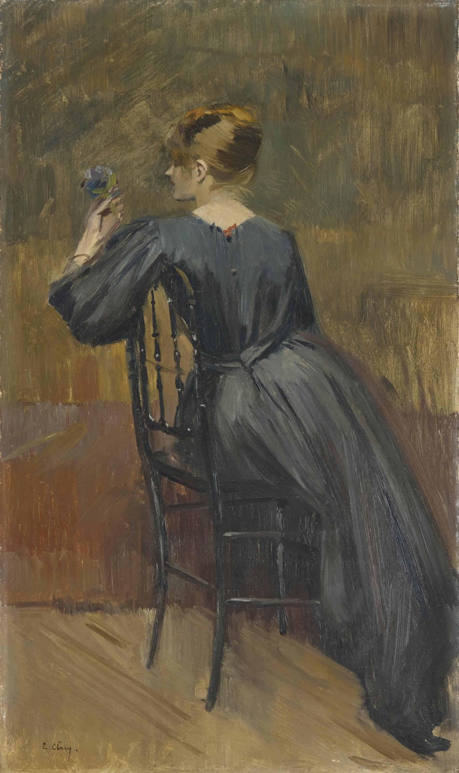 Portrait of Suzanne Valadon (1865-1938), aged 20
