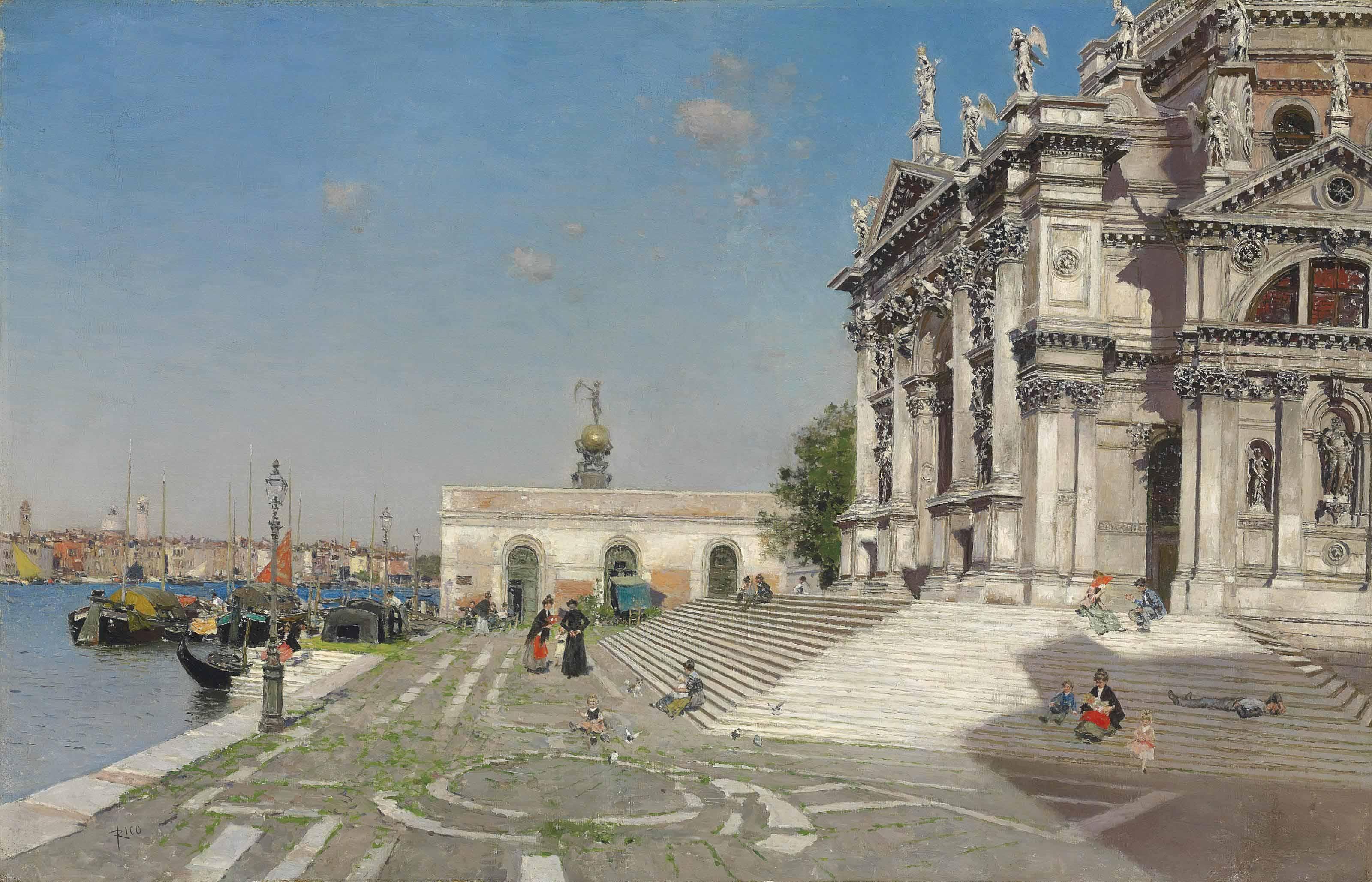 Santa Maria della Salute and the Dogana, Venice